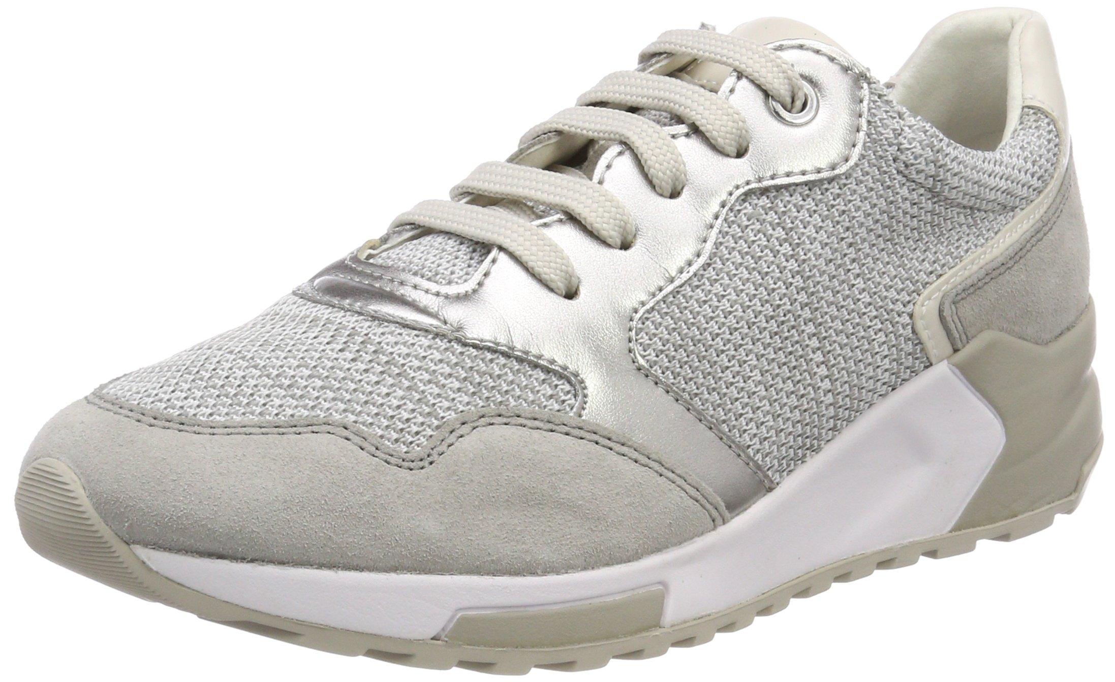 BSneakers Geox FemmeGriswhite Eu lt Basses D Phyteam Grey40 MzVpSU