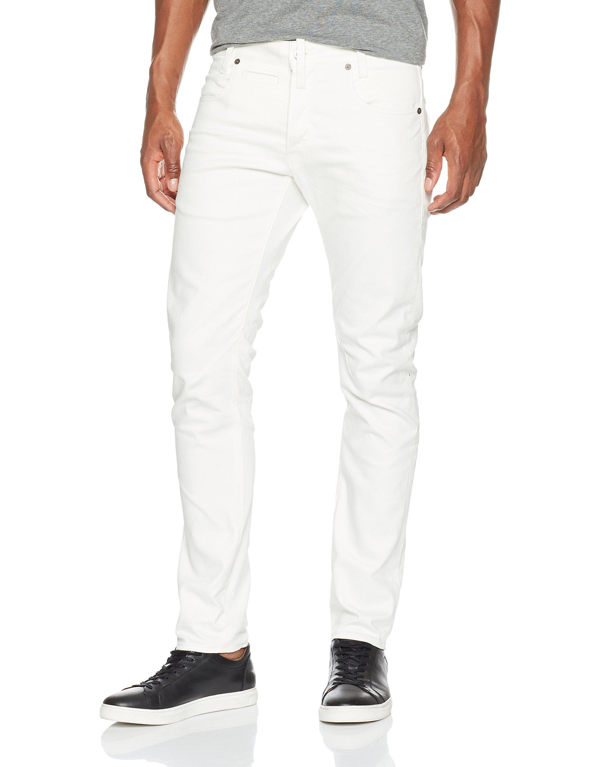 star Raw DStaq Denim 124134w30l Slim 5 JeansBlanc3d Homme pocket G 6729 xrWCdoBe