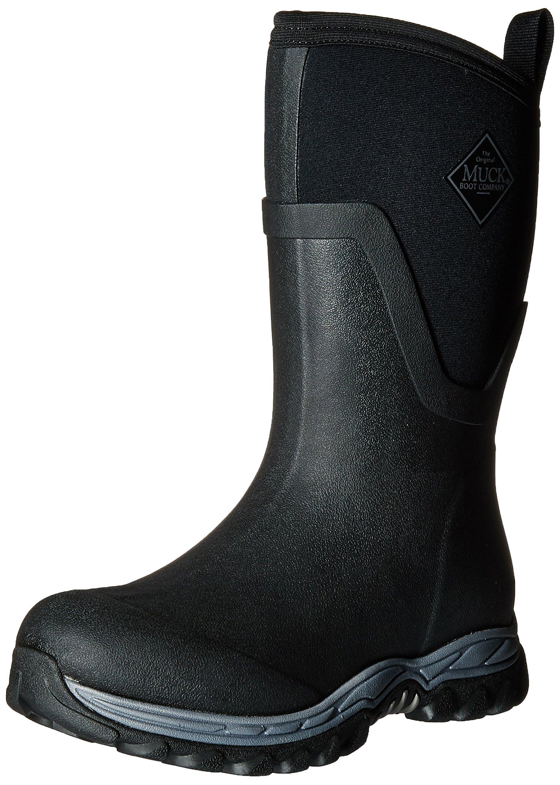 Pluie Ii MidBottesamp; Bottines Black36 Arctic Eu FemmeNoir Muck De Boots Sport v8mwNn0