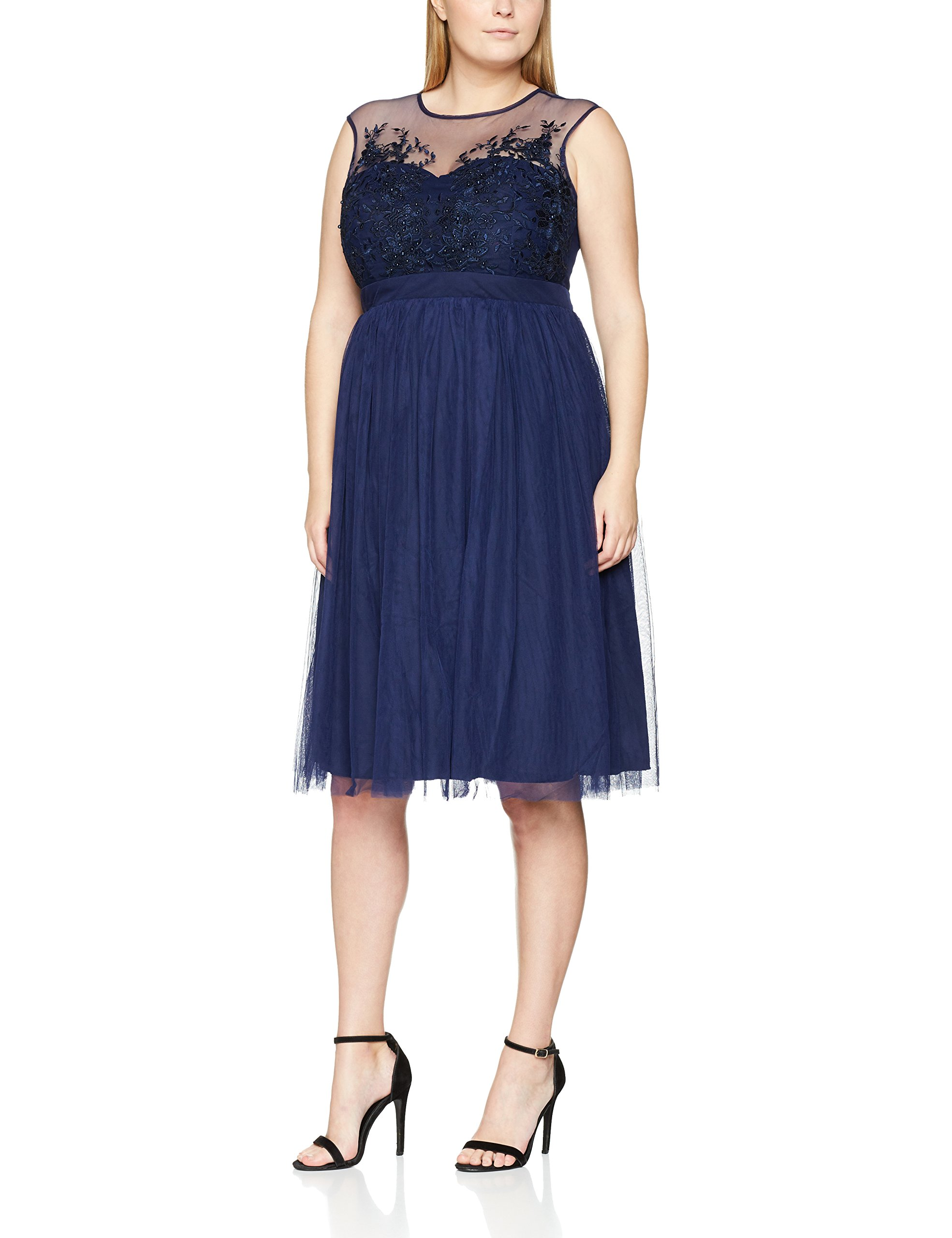 Du L7975c2aRobe Ras Cou FemmeBleublue Mistress Col Little Fabricant16 Cocktail Manches 00144taille Courtes Ib7Yvf6gy