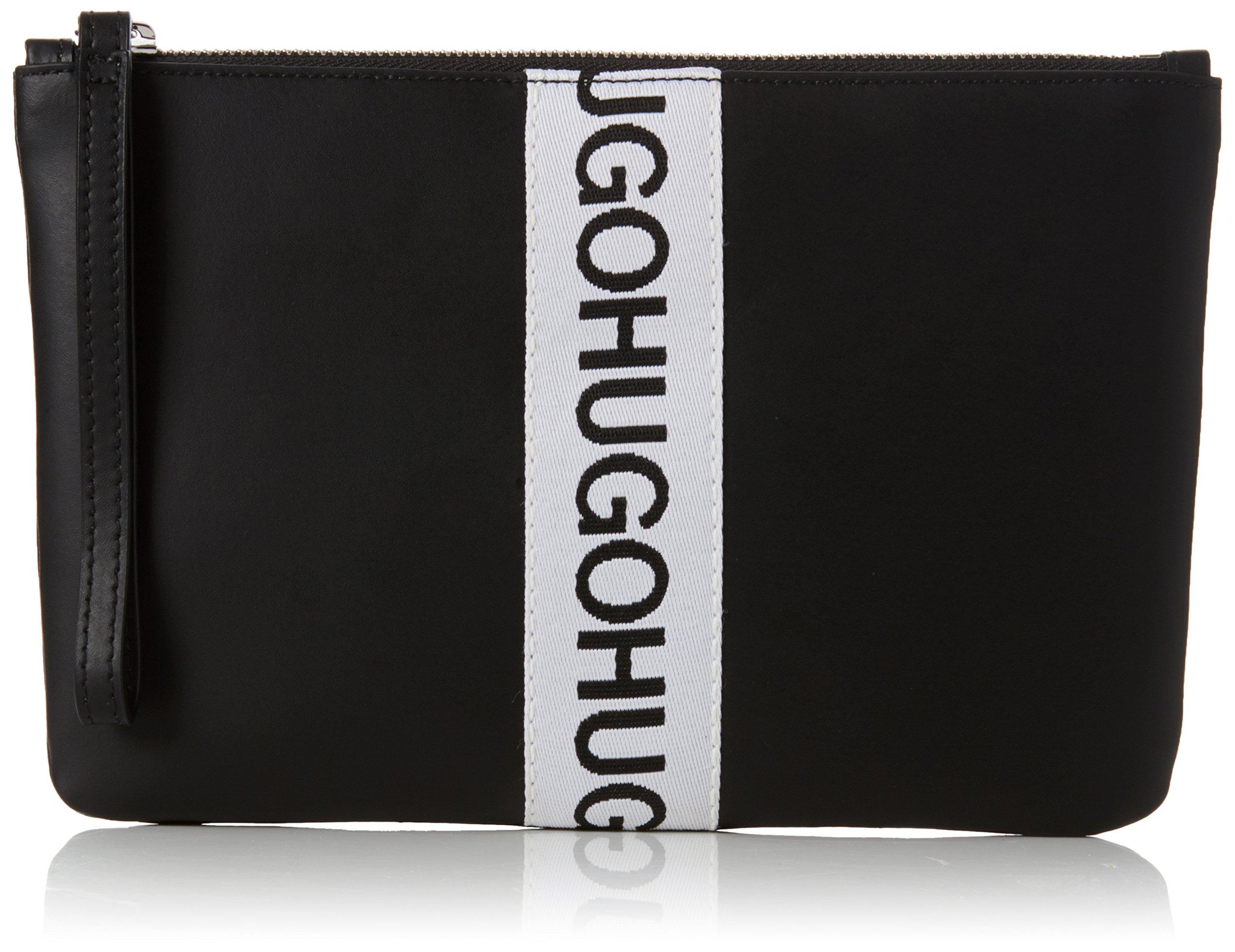 X Hugo PouchOrganiseurs H De Main Sacs À FemmeNoirblack1x17x25 Kingston T Cmb QxBodCWre