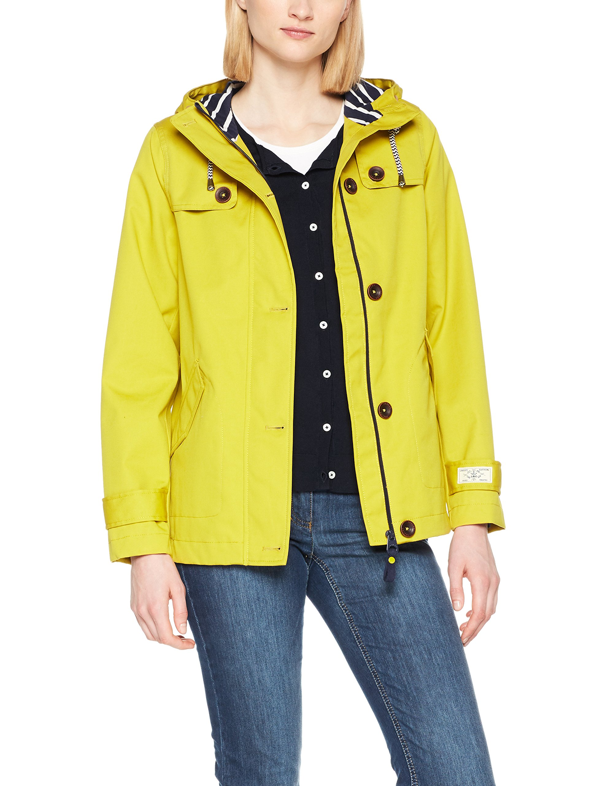 Gold Joule Longues Coast Relaxed FemmeOrantique Imperméable Tom Antgold42 relaxedManteau Capuche Manches À fYyb6g7