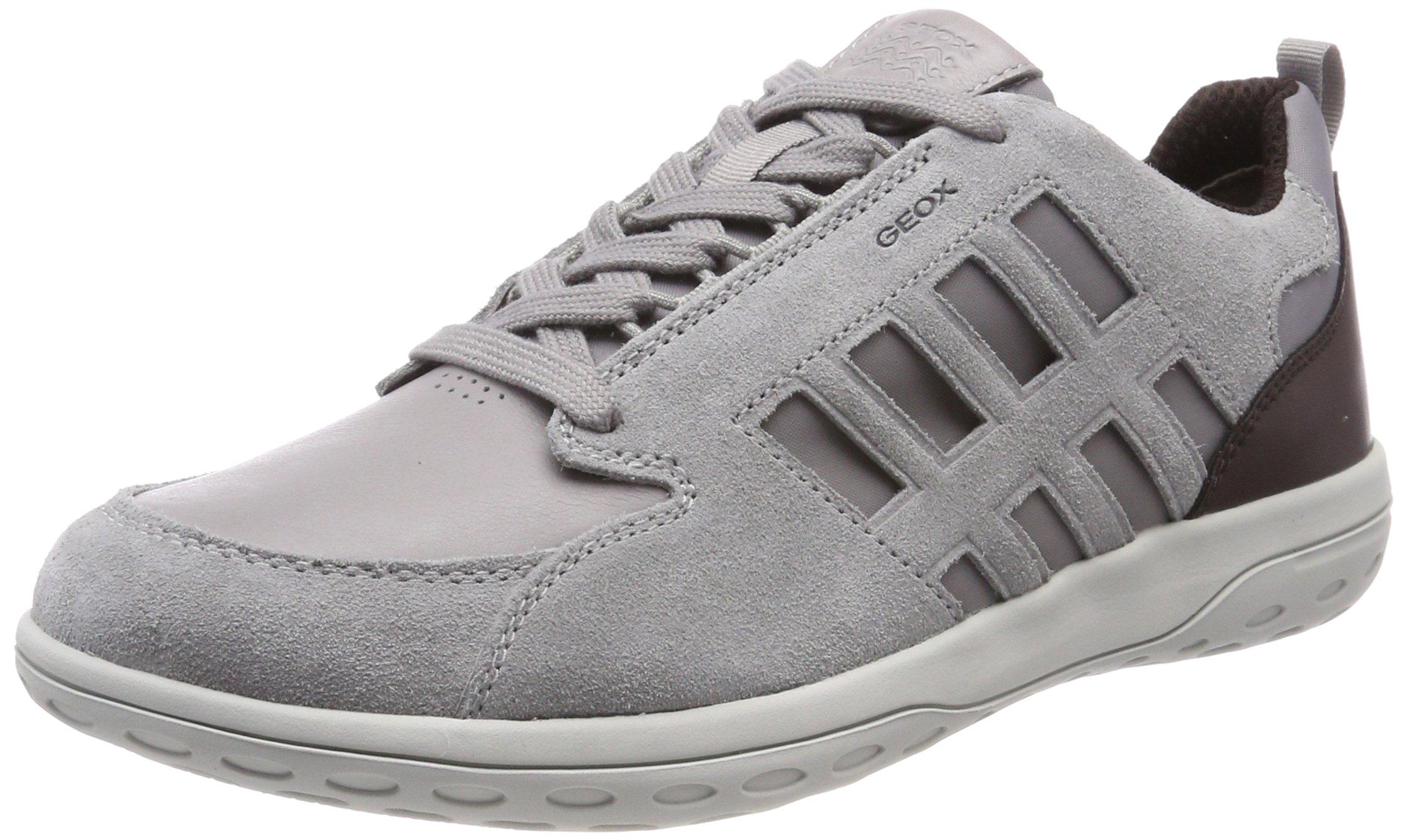 Mansel ASneakers Geox HommeGrislt U dk Grey Eu Burgundy43 Basses KcTJ5ul3F1