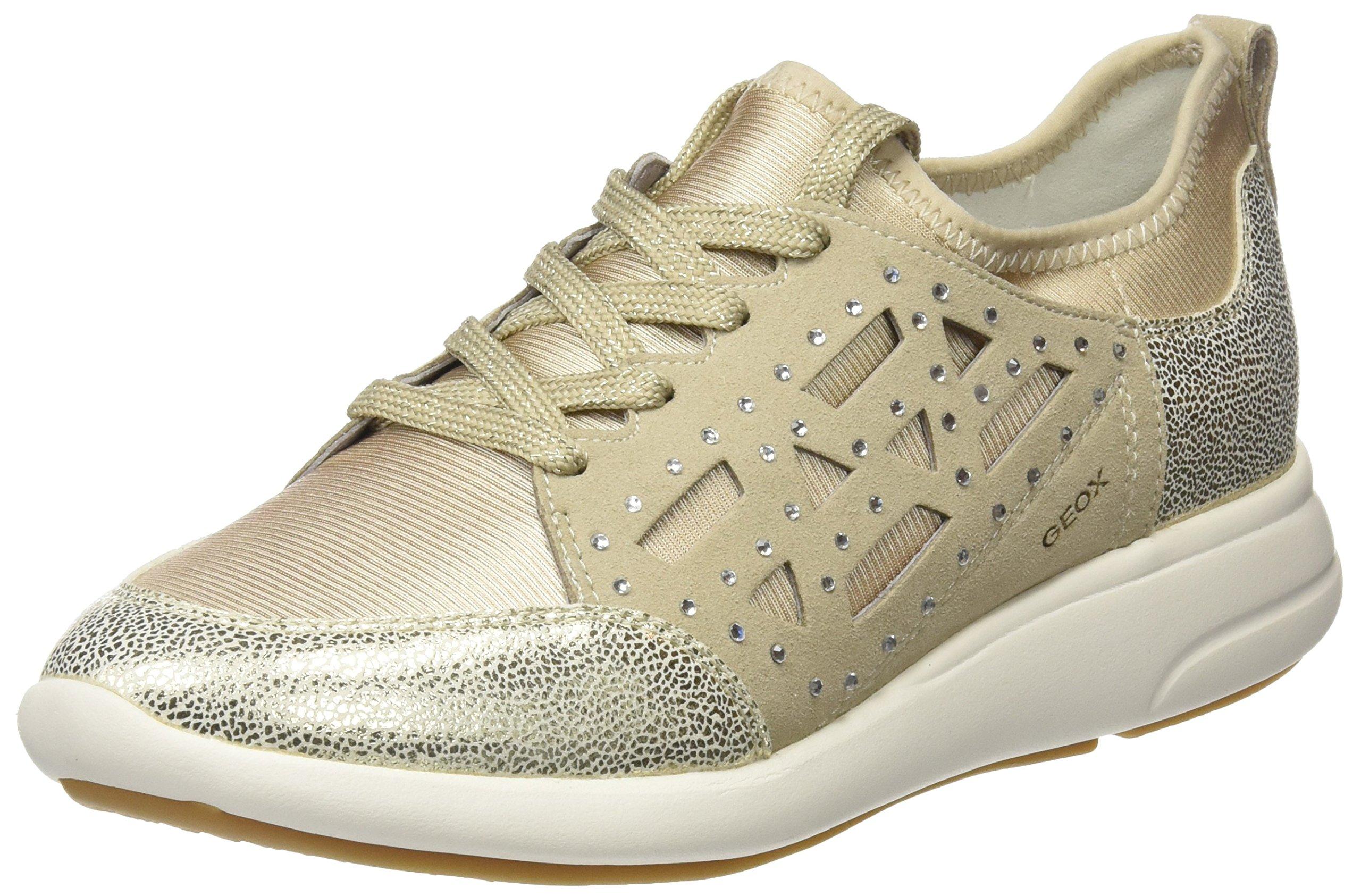 Ophira Gold41 Taupe BSneakers Eu D FemmeOr Basses Geox lt QsCdthrx