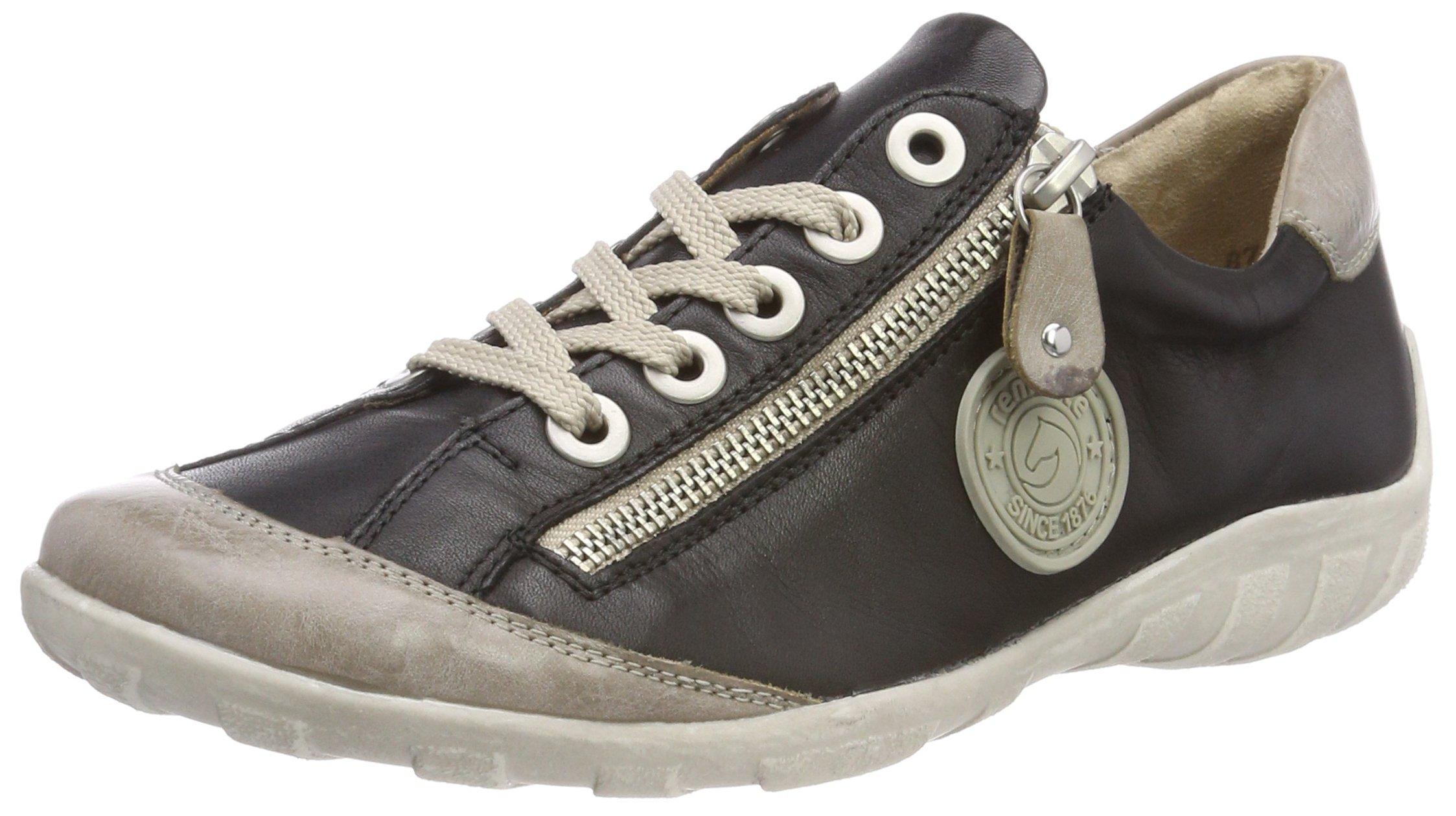 FemmeNoirsteel Eu R3443Sneakers Basses Remonte Schwarz44 thsQxBrCod