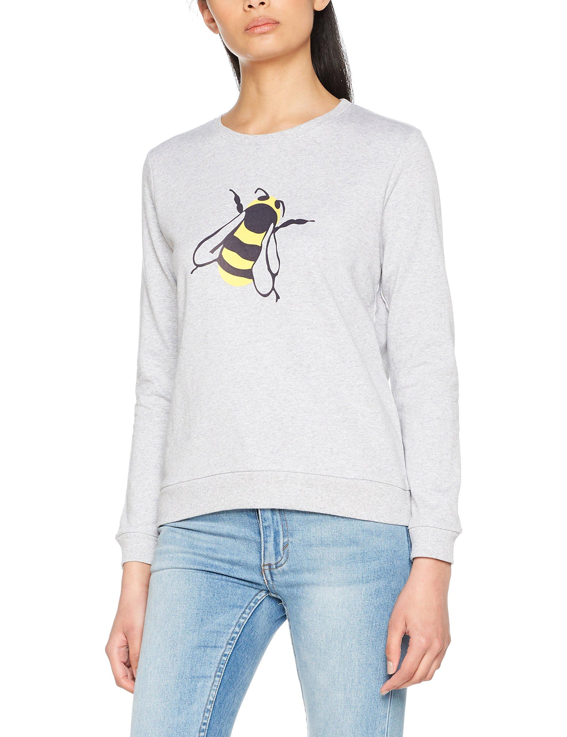PullGrisgrey Tree 00140 Sweatshirt Bee Femme People DIEHY2W9