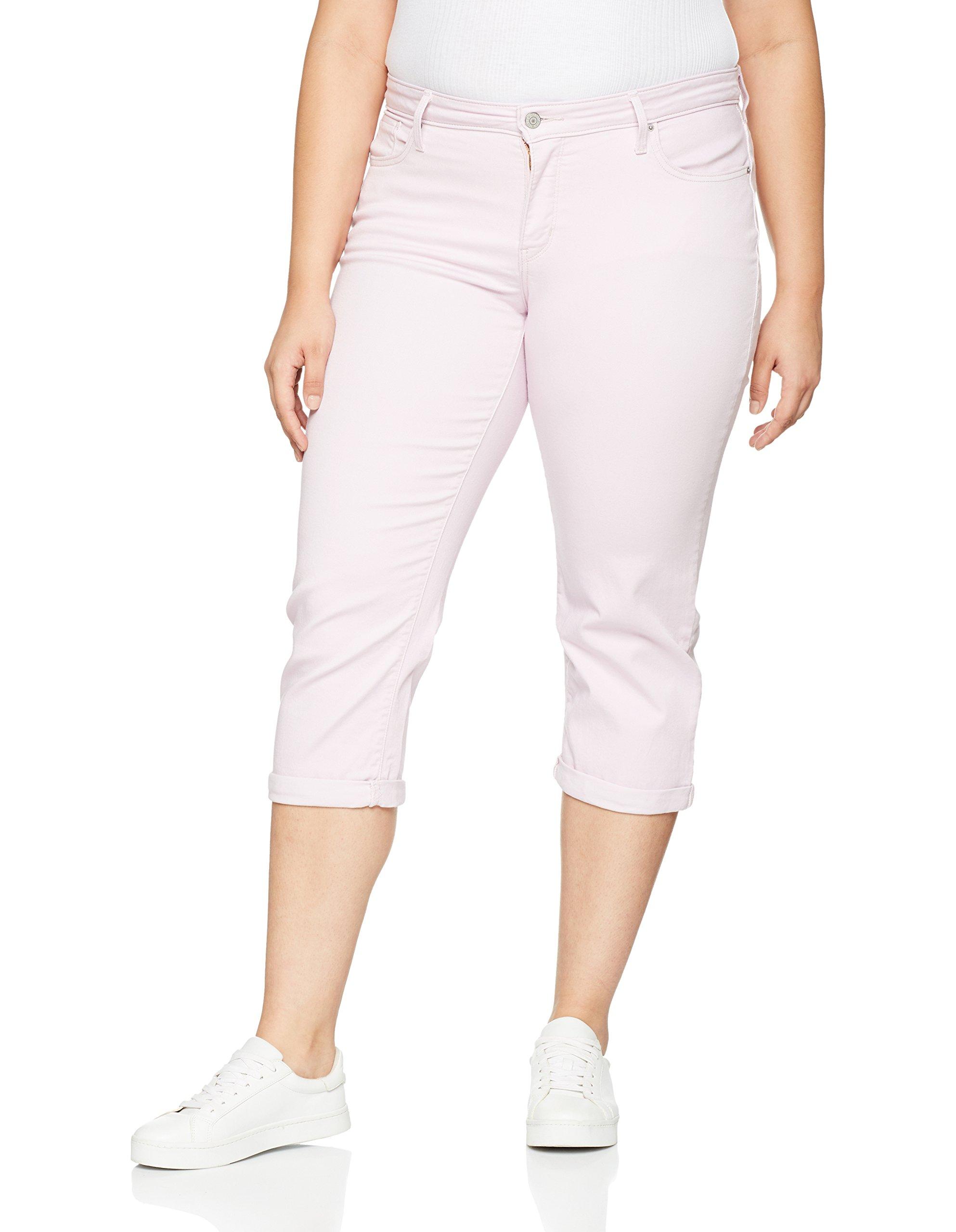 ShortRoselight Shaping Capri Plus 001620 Lilac Femme Twill Levi's Size Pl LARj534