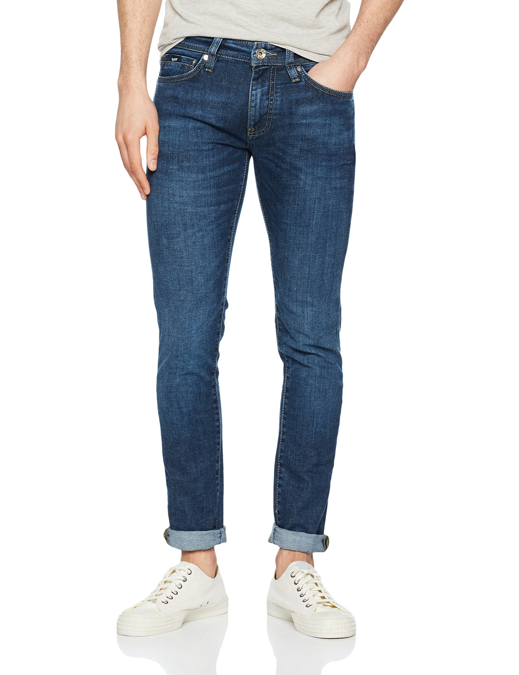 Gas Jean Wk13Taille SkinnyBleu Sax Zip Homme Fabricant 31 QxrdWoeBC