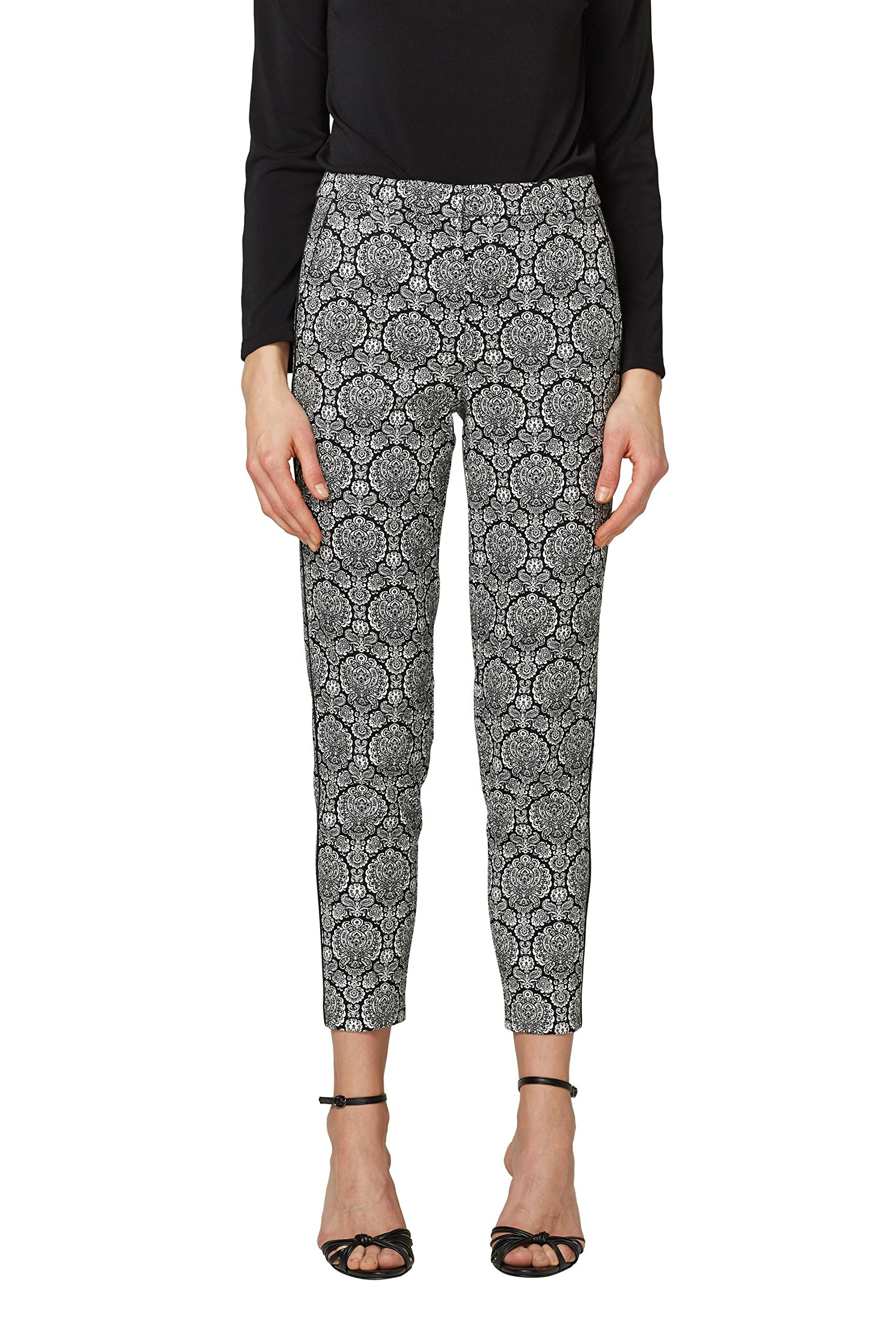 Collection Esprit PantalonNoirblack 028eo1b006 00140taille Fabricant38Femme 1lFKJTc
