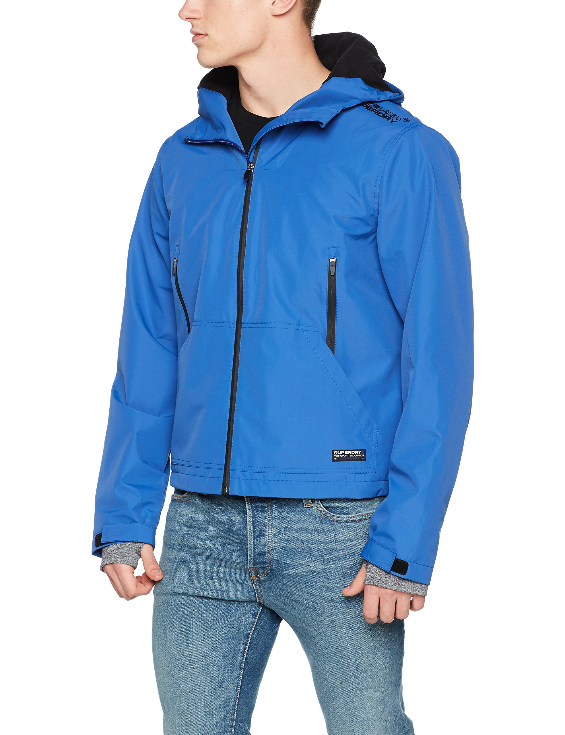 Blue De Homme SportBleuelectric Veste Elite 3ebLarge Superdry Windcheater jqcRL5A34