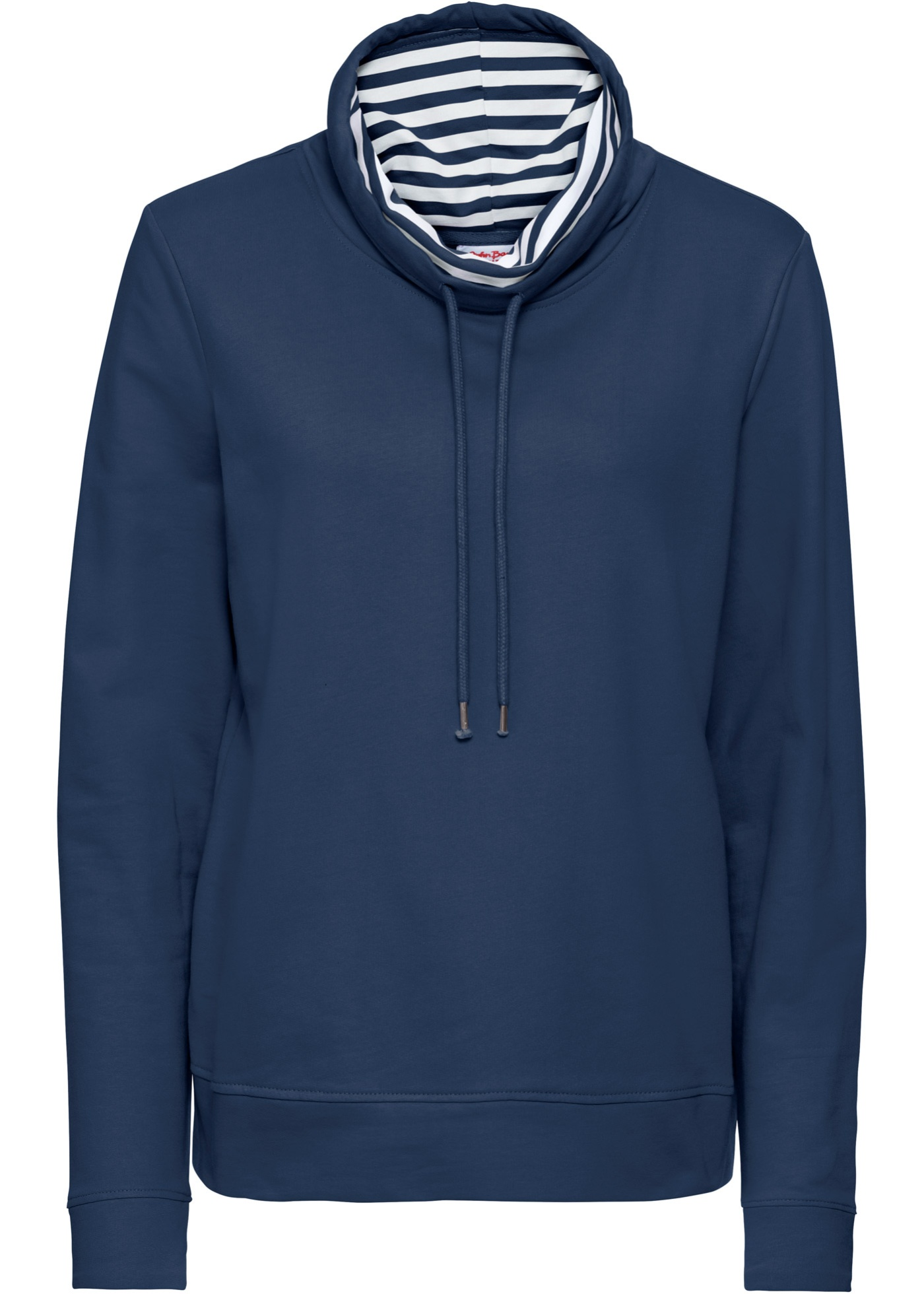 Baner Longues Femme John Manches BonprixSweat shirt Jeanswear Pour Bleu n8PwO0Xk