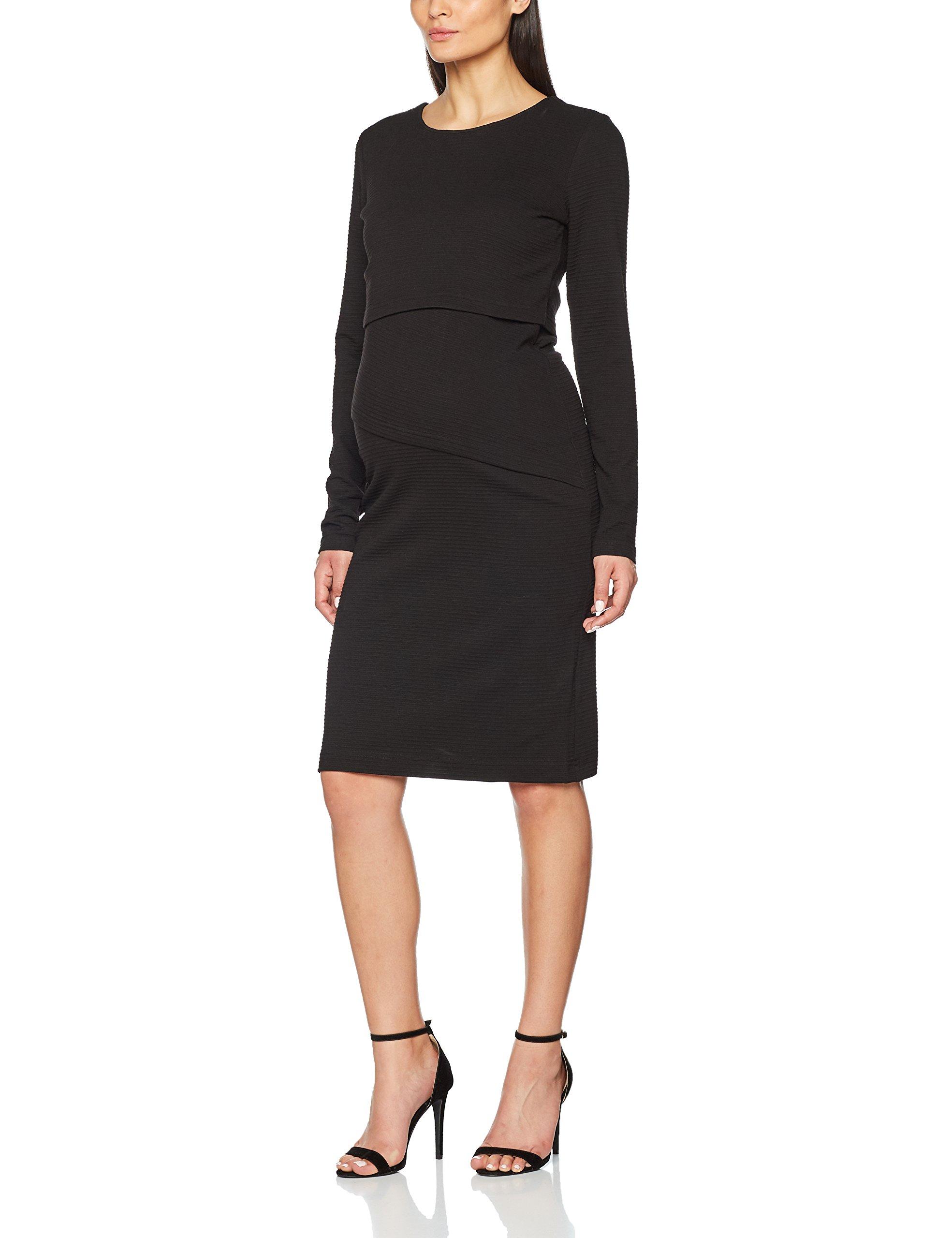 Nurs FabricantMFemme maternitéNoirblack Balou Dress C27040taille Ls Robe Noppies OuXklwPiTZ