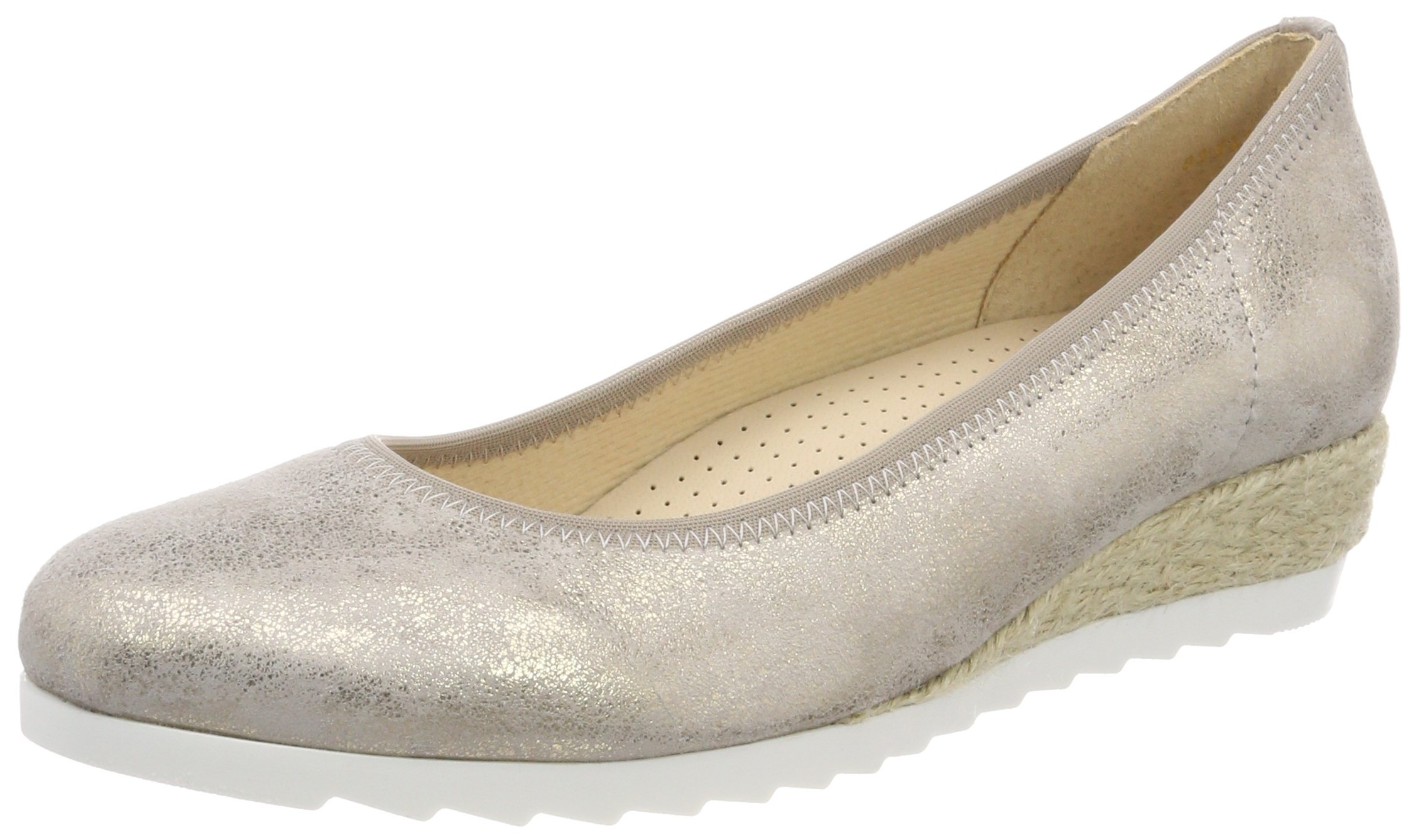 Gabor SportBallerines Jute40 FemmeBeigemuschel Shoes Eu Comfort CeWxBdroQ