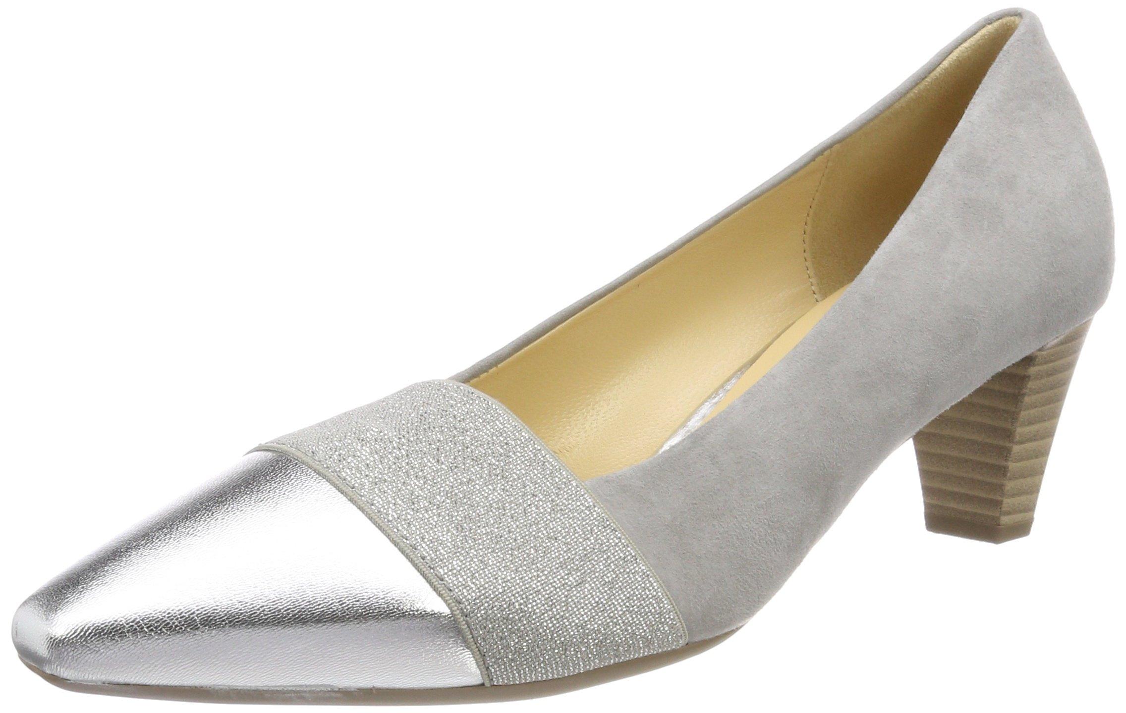 5 Gabor BasicEscarpins silber38 Shoes FemmeGrisstone Eu vN0wOnm8