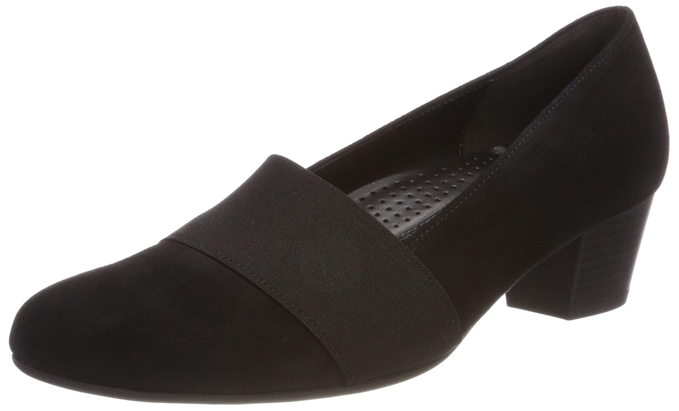 Comfort Schwarz39 FemmeNoir Eu FashionEscarpins Shoes Gabor 3ARqjL54