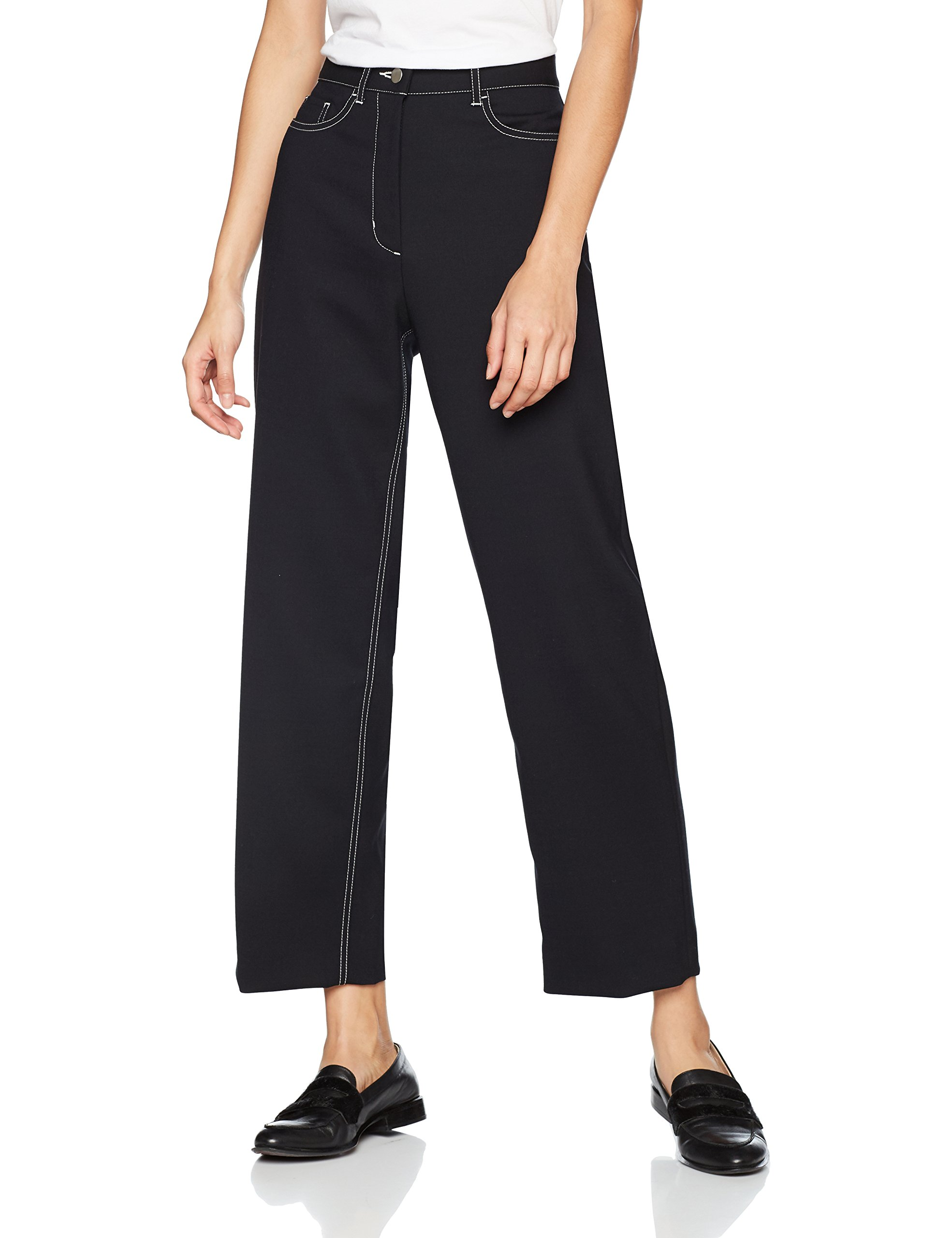 PantalonNoirblack38taille Fabricant36Femme Althea Trousers Trousers PantalonNoirblack38taille Fabricant36Femme Wood Althea Wood hQxrCstd