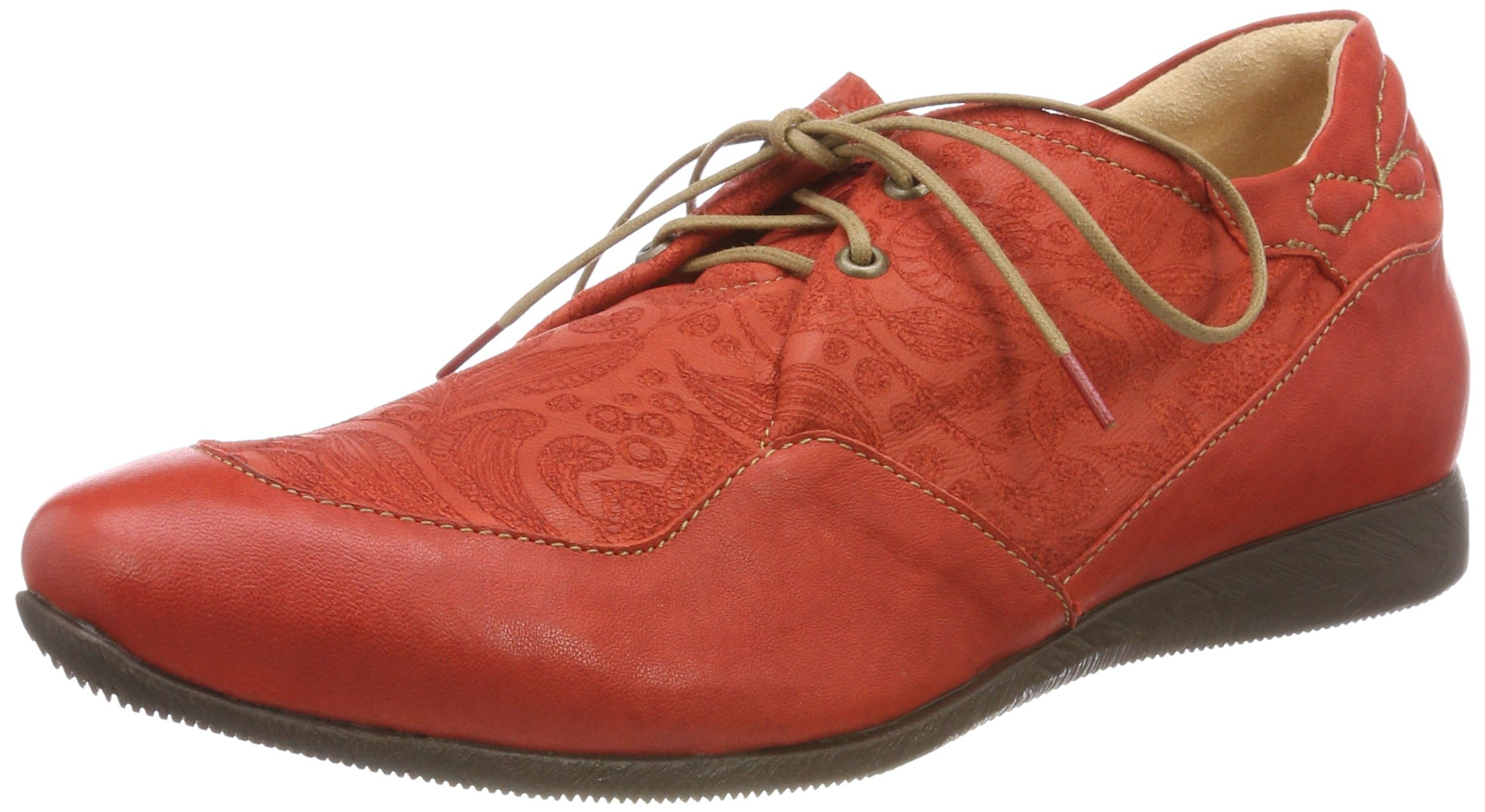 282094Brogues kombi Eu 7640 ThinkRaning FemmeRougechilli vmN8wn0