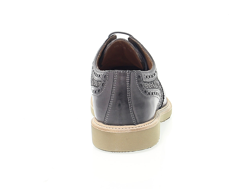 En Cuoieria Peau Chaussures À Lacets Antica D2eW9EIYH