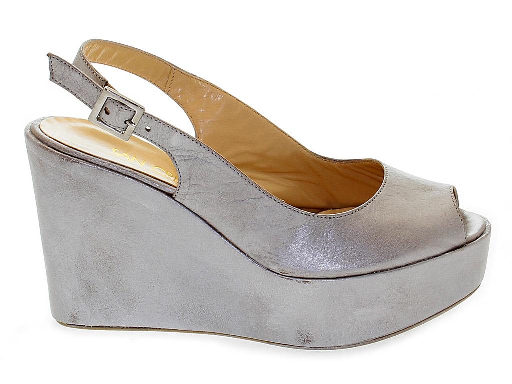 En San Peau Chaussures Compensées Crispino N0mnwO8yv