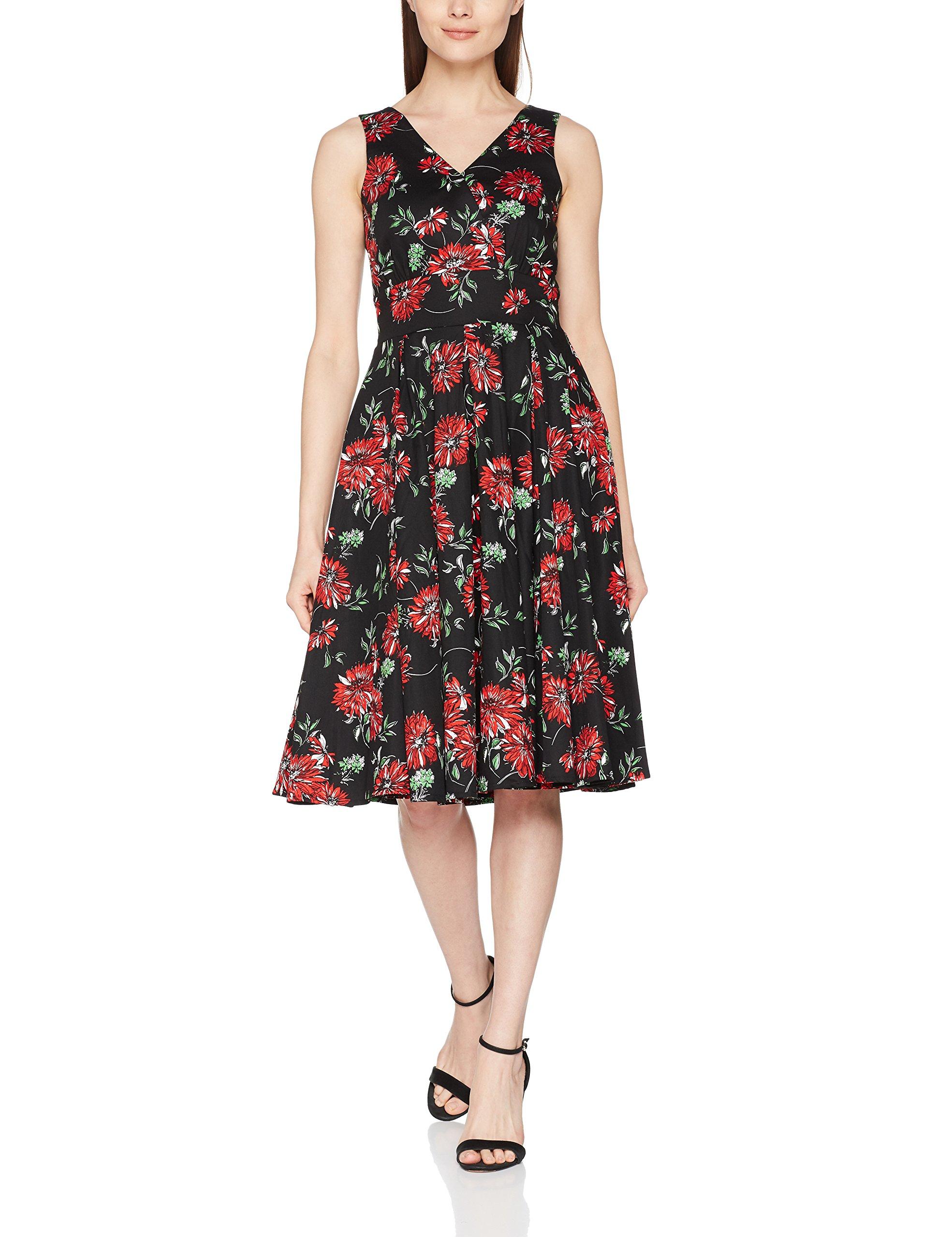 Joe Browns Dress Femme Floral RobeNoirblack Romantic Multi42 eE9I2WDHY