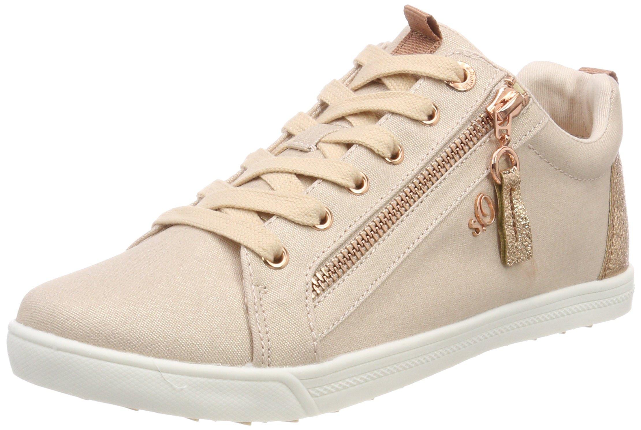 oliver Femmerose Metallic39 Eu S Basses 25201Sneakers lKFT1Jc3