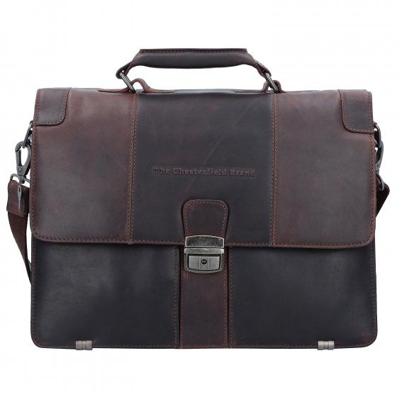 Brand Laptop George Compartiment The 38 Serviette Chesterfield Cuir Cm I7gbYfyv6