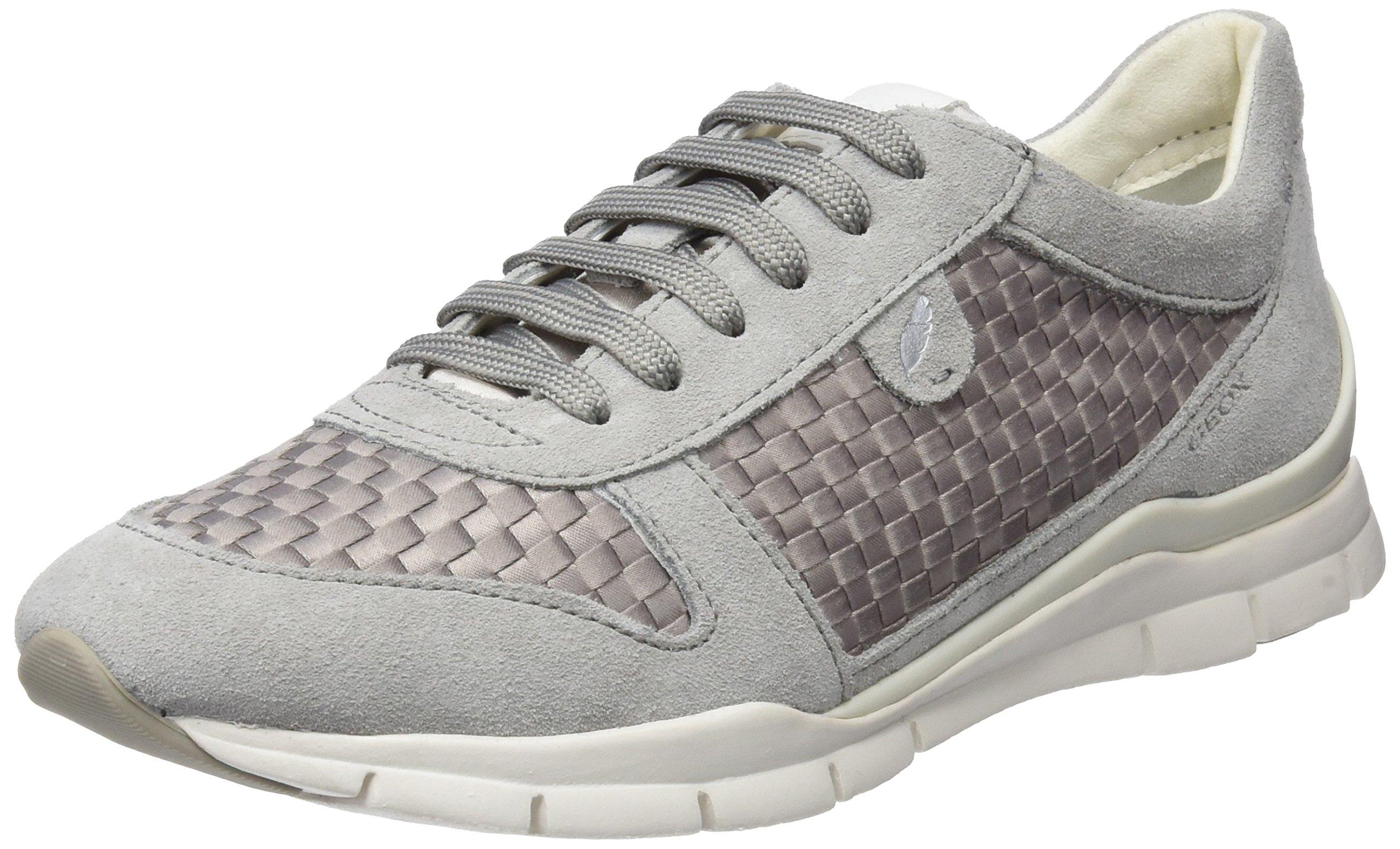 D Eu Sukie ASneakers Grey38 Geox FemmeGrislt Basses cTlJF1K
