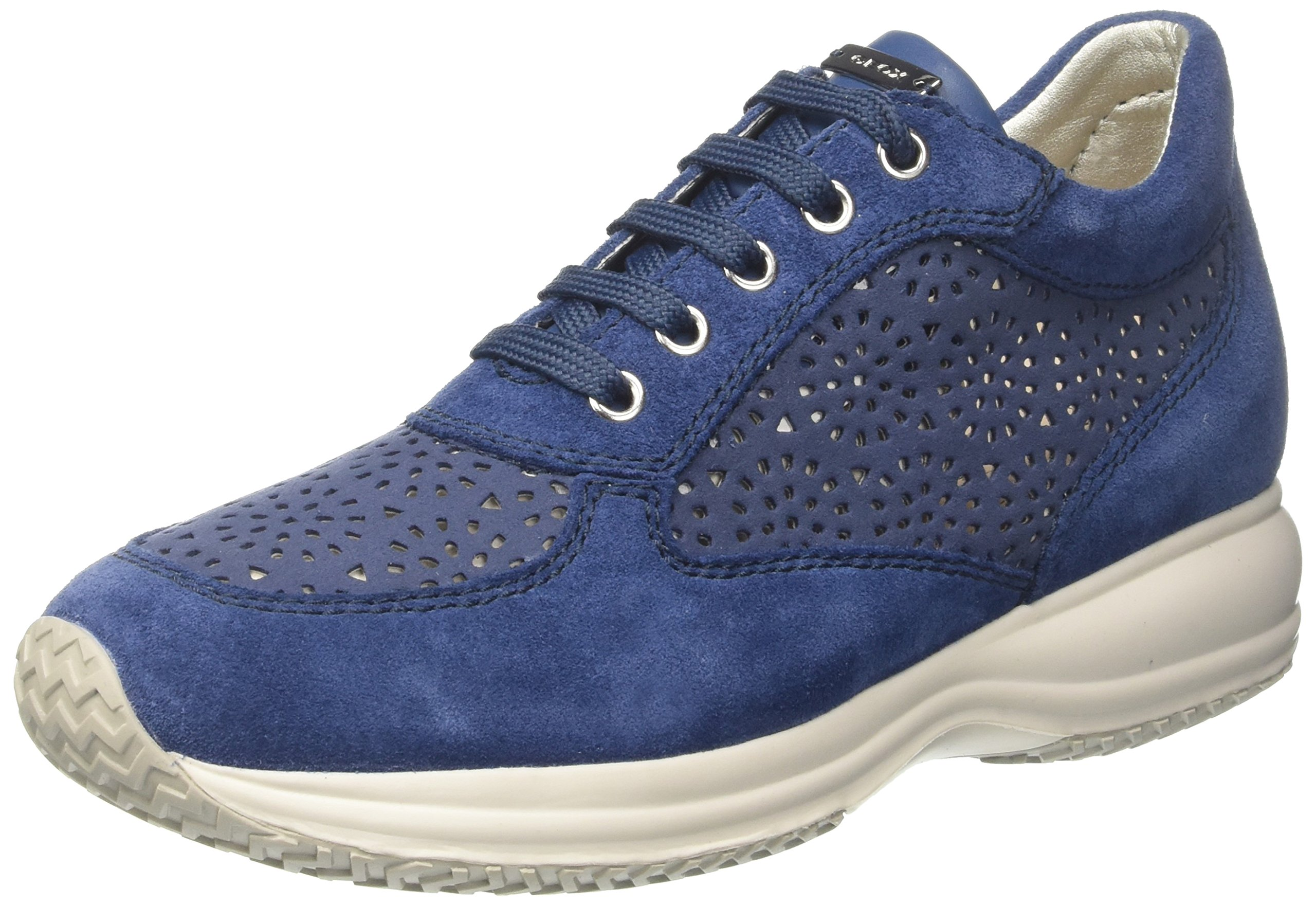 Basses Eu Geox ASneakers D FemmeBleudenim39 Happy R4jq35AL