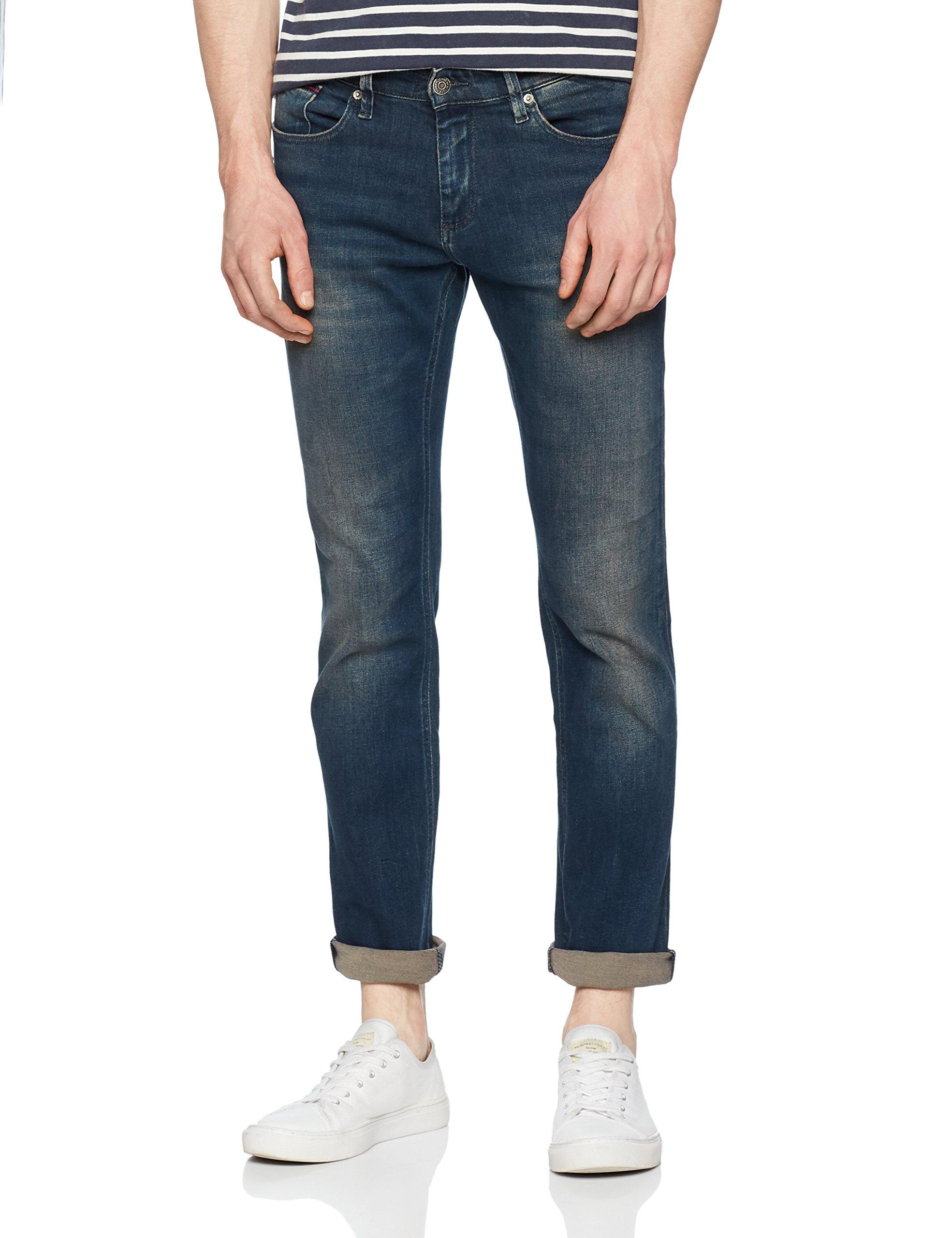 Tommy l32 Homme Stretch Slim Bleufillmore 911W32 Dark Blue Jeans Scanton f7y6gYb