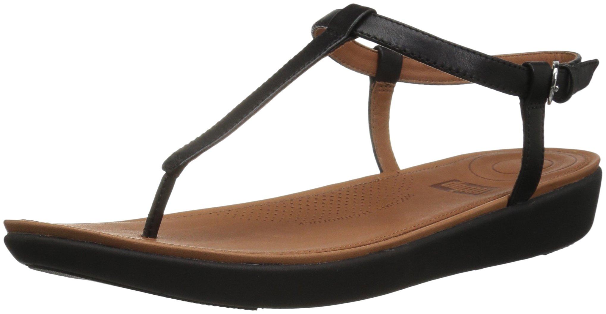 Toe Tia Eu Fitflop leatherBout FemmeNoirblack 00143 Sandals thong Ouvert tsxhQdrC