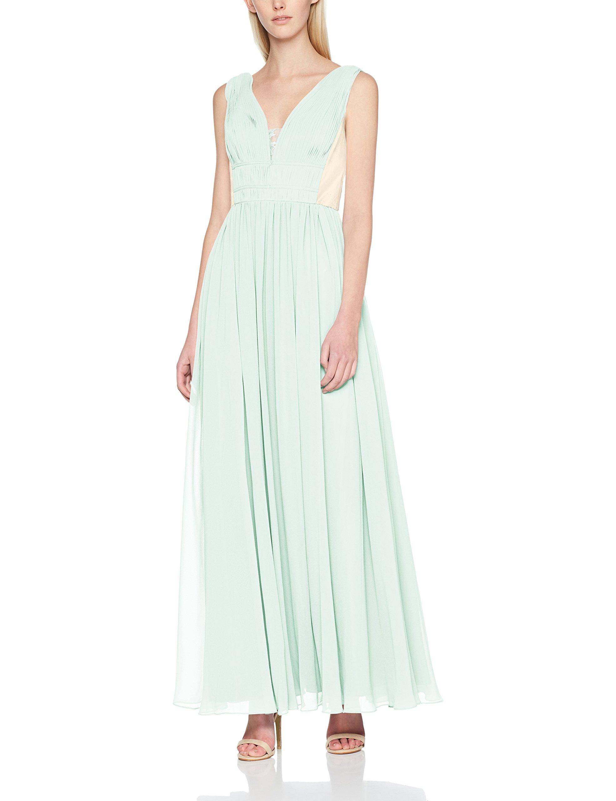 907538 Femme Dress Laona RobeMehrfarbigjade Mint nude Evening QrdxBCoWEe