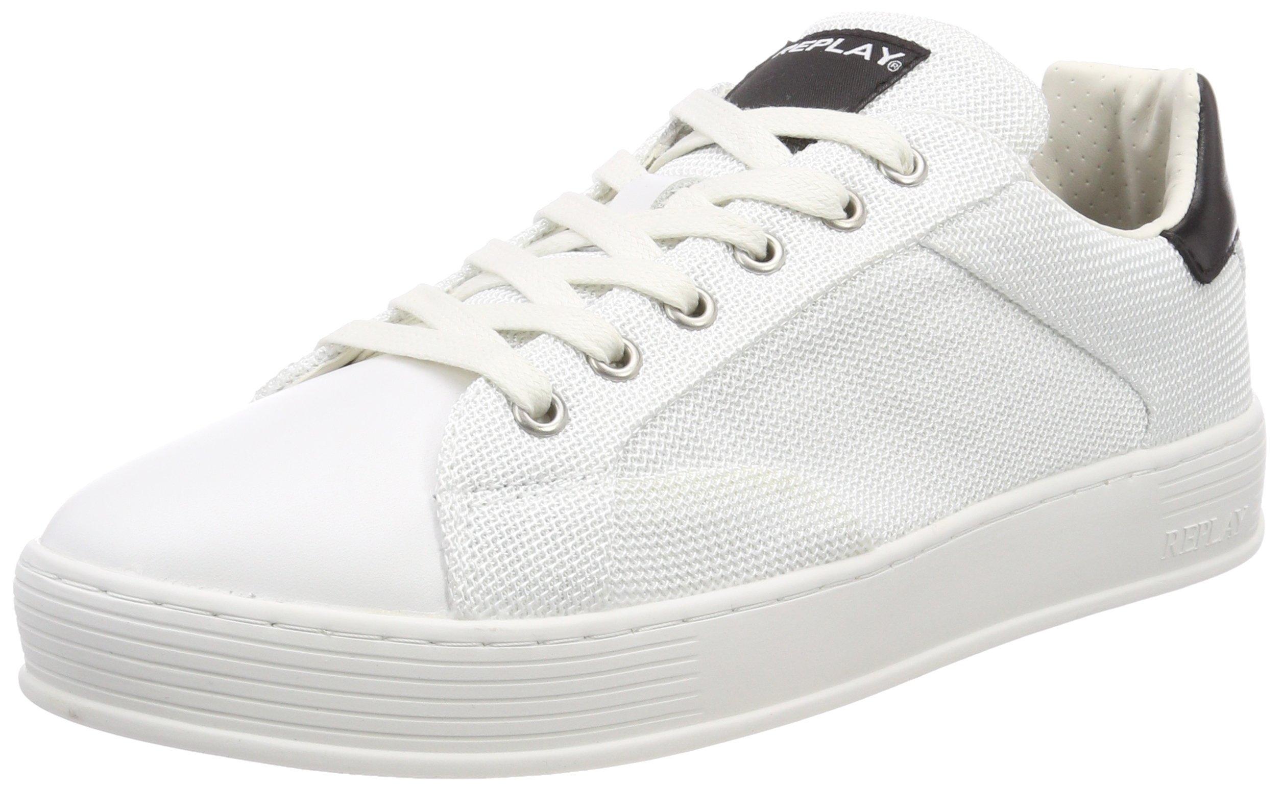 Replay Basses Eu Black43 AlvinSneakers HommeMulticolorewhite T3Jl1ucFK
