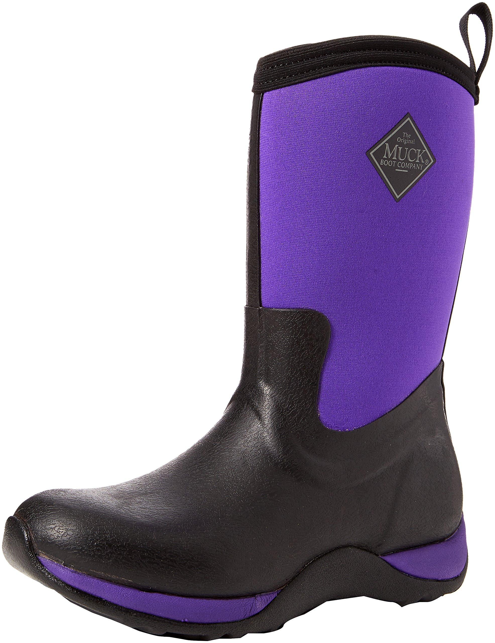 Pluie Women's Arctic WeekendBottesamp; Boots Bottines De FemmeNoirblack purple36 Muck Eu FJc1Kl3T