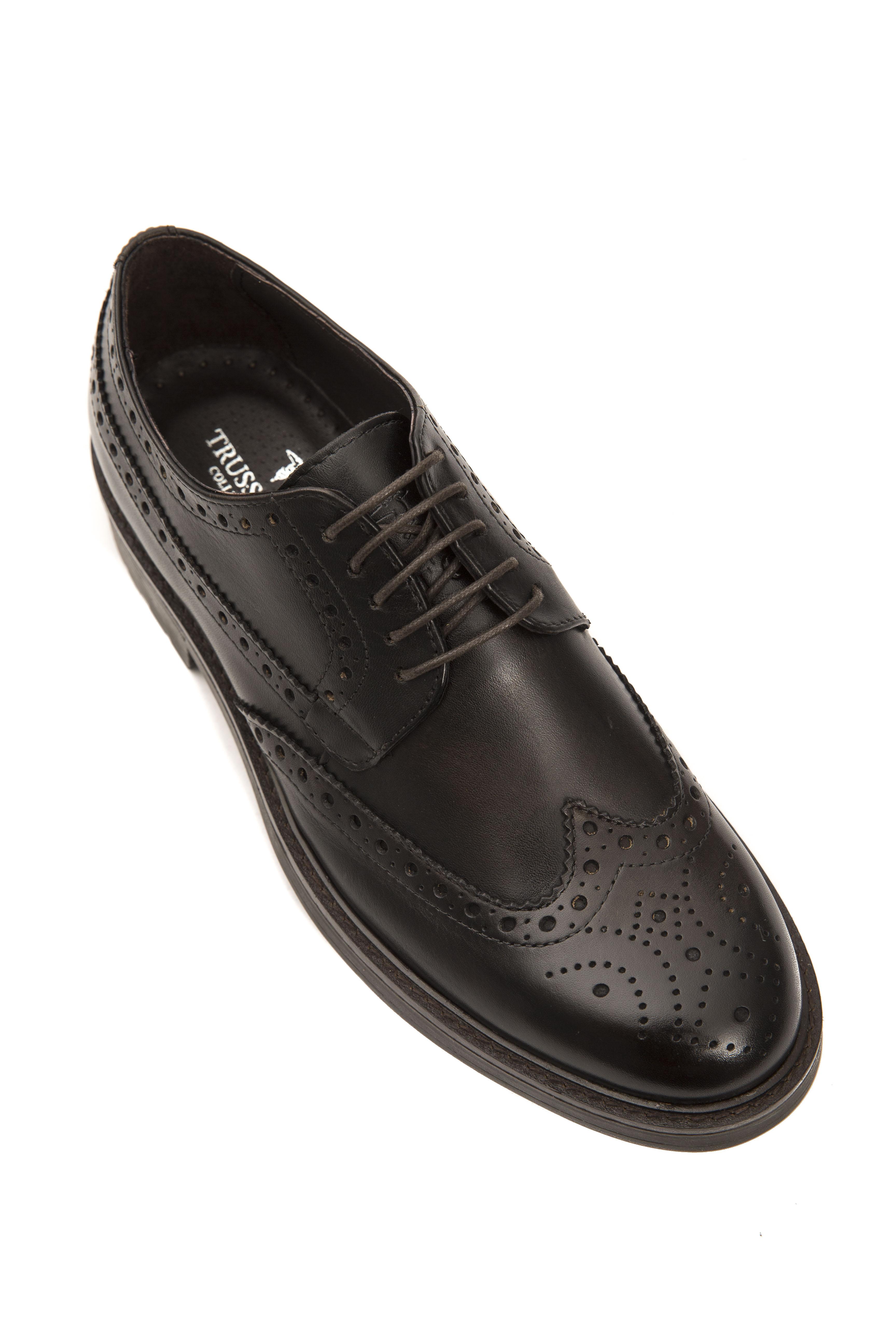 Collection Trussardi Bigarello Chaussures Marron Chaussures Marron Trussardi dQhtsrC