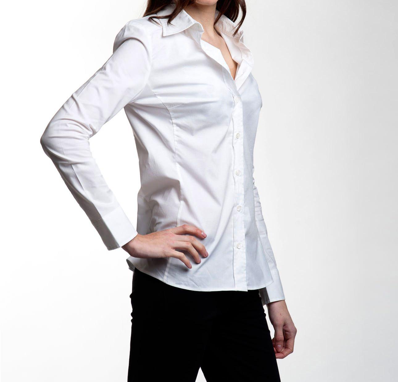 Chemise Blanc Femme Ungaro 29224m 212 EIW2YHD9
