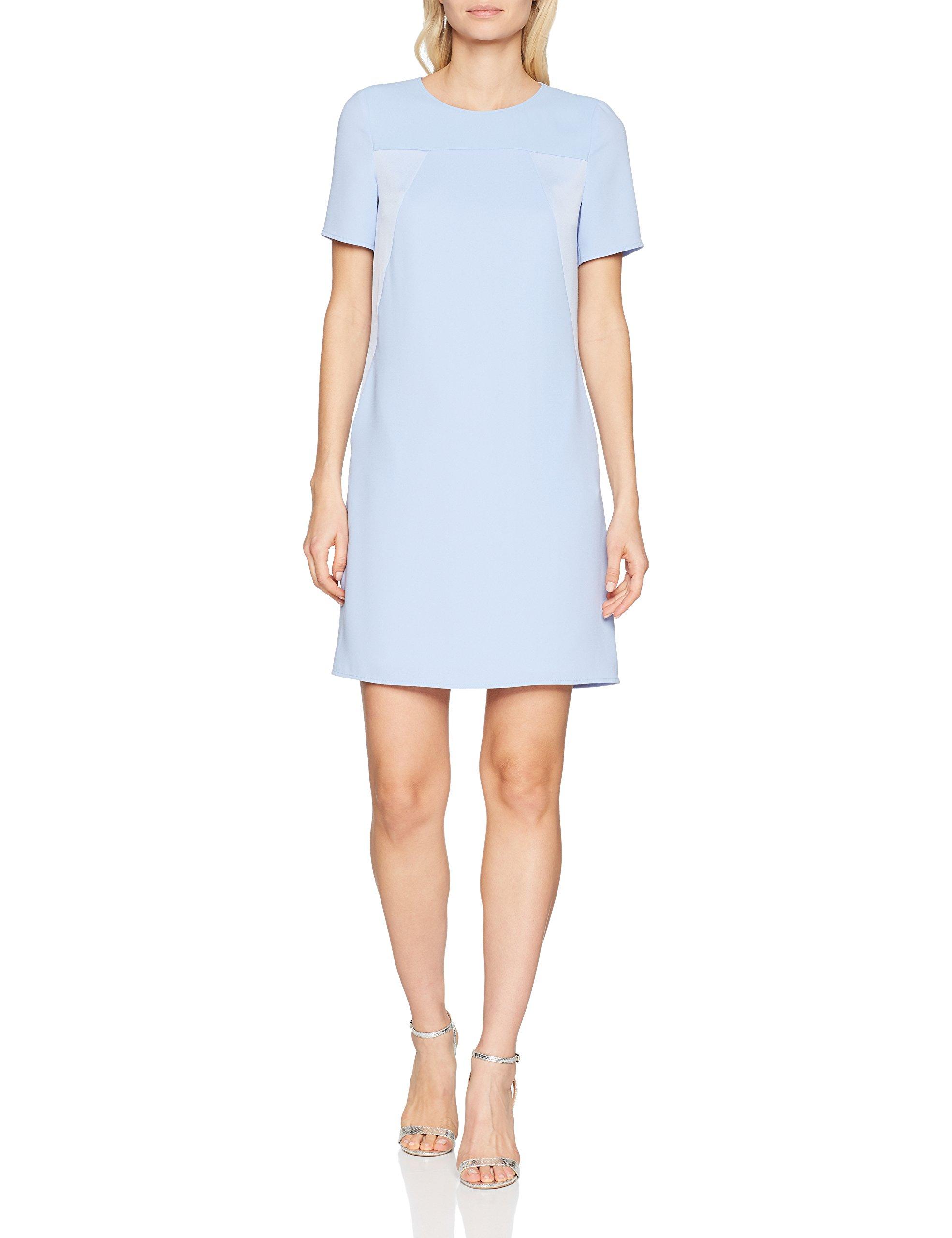 Daniel RobeBleucloudy Blue Femme Hechter Dress 62538 CQrhtsd