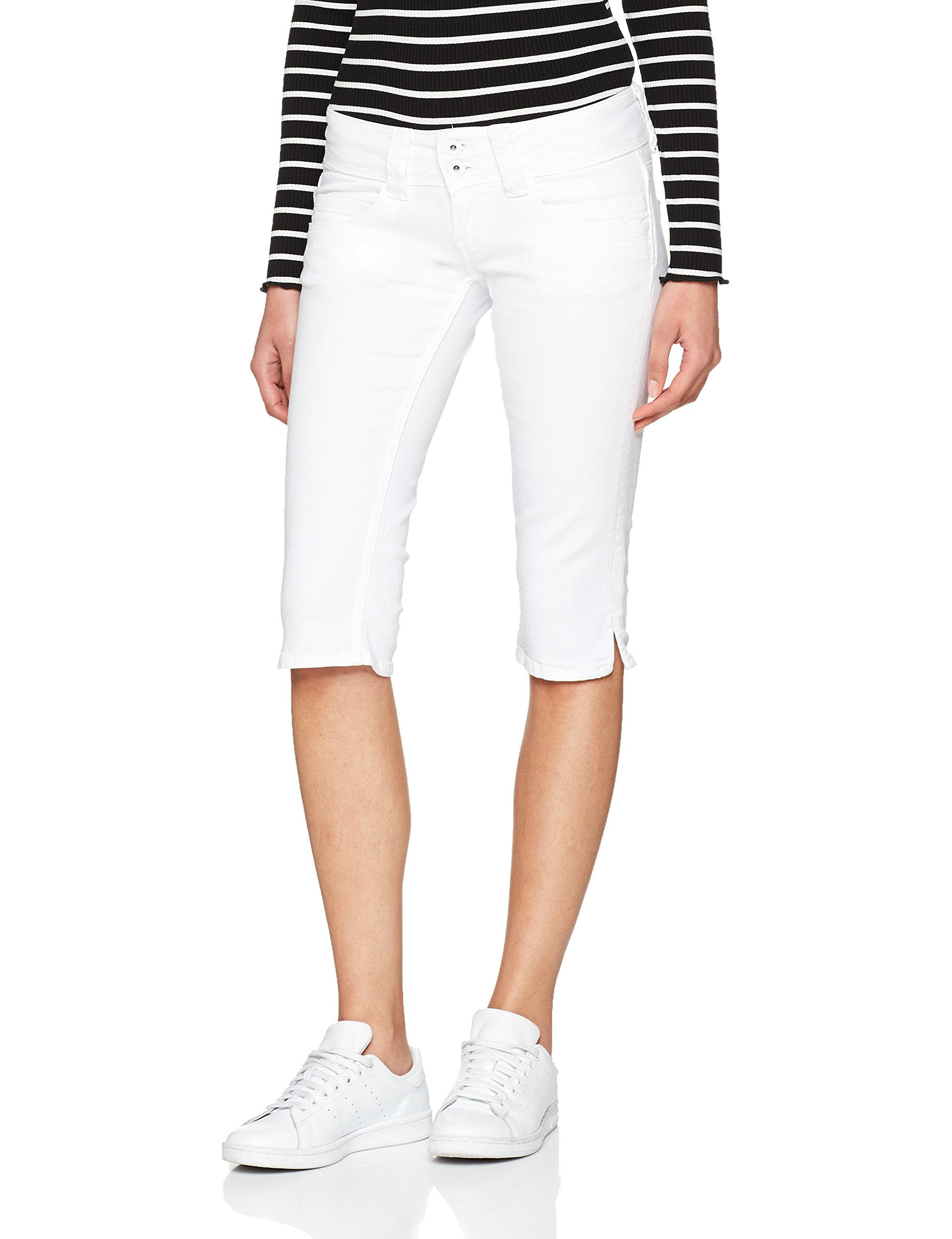Venus Pepe BleudenimTaille Jeans Short Femme Fabricant25 Crop nwOmN0v8