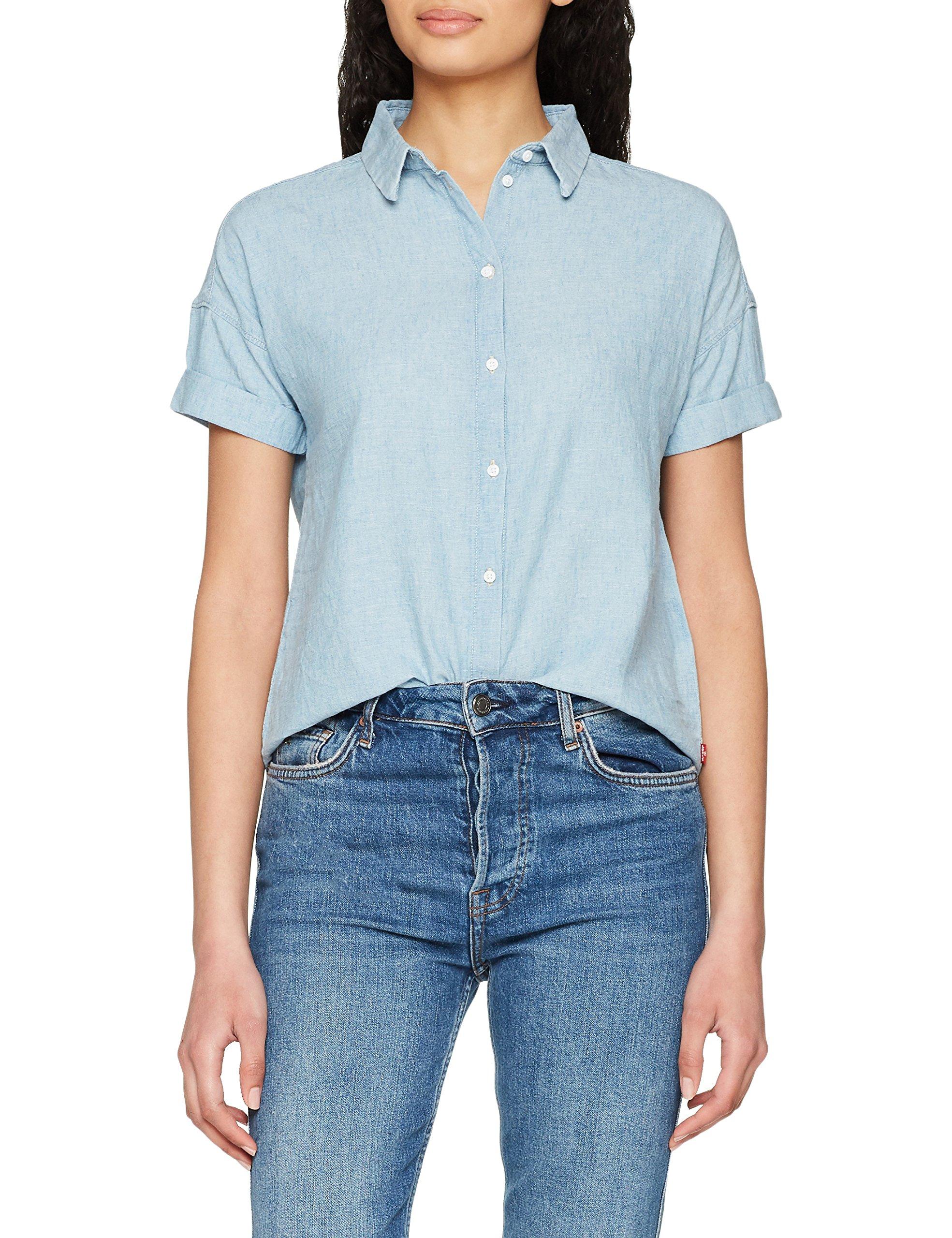 Wash Levi's 0000Large Femme Shirt Harper ChemiseBleulight Mid 0wOmNnv8