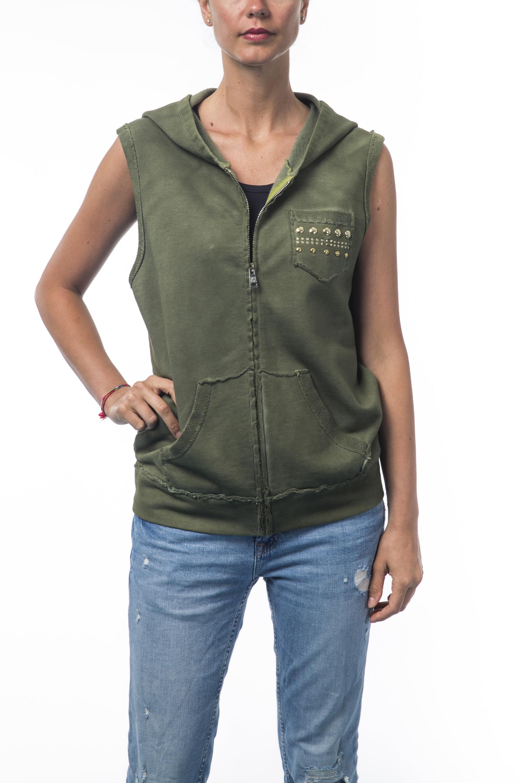 21140 Sweatshirt Years Femme Sweet Vert oerdCBx