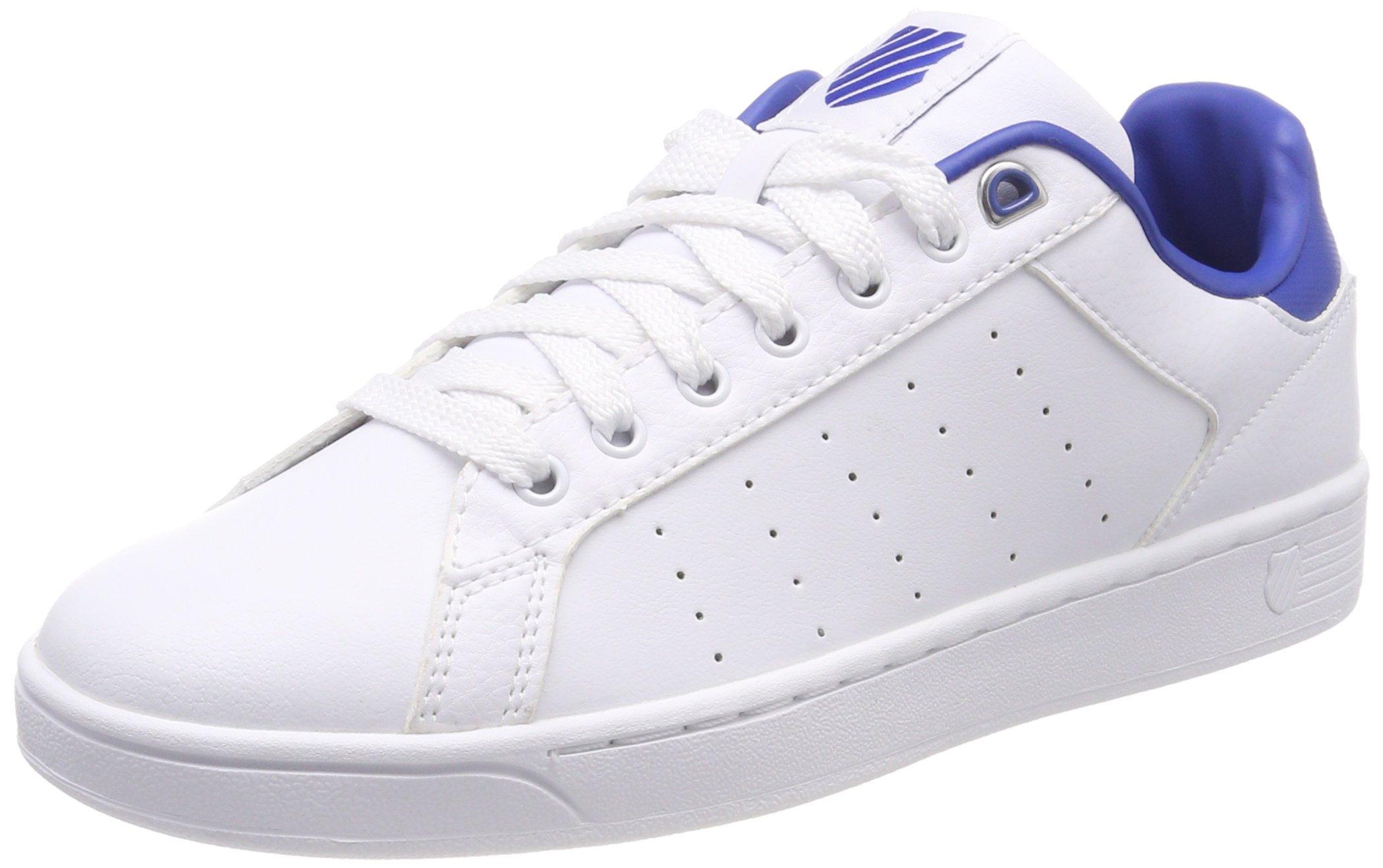 CmfSneakers Eu HommeBlanc Classic Clean white46 Basses Blue K swiss Court yOvwNm8n0