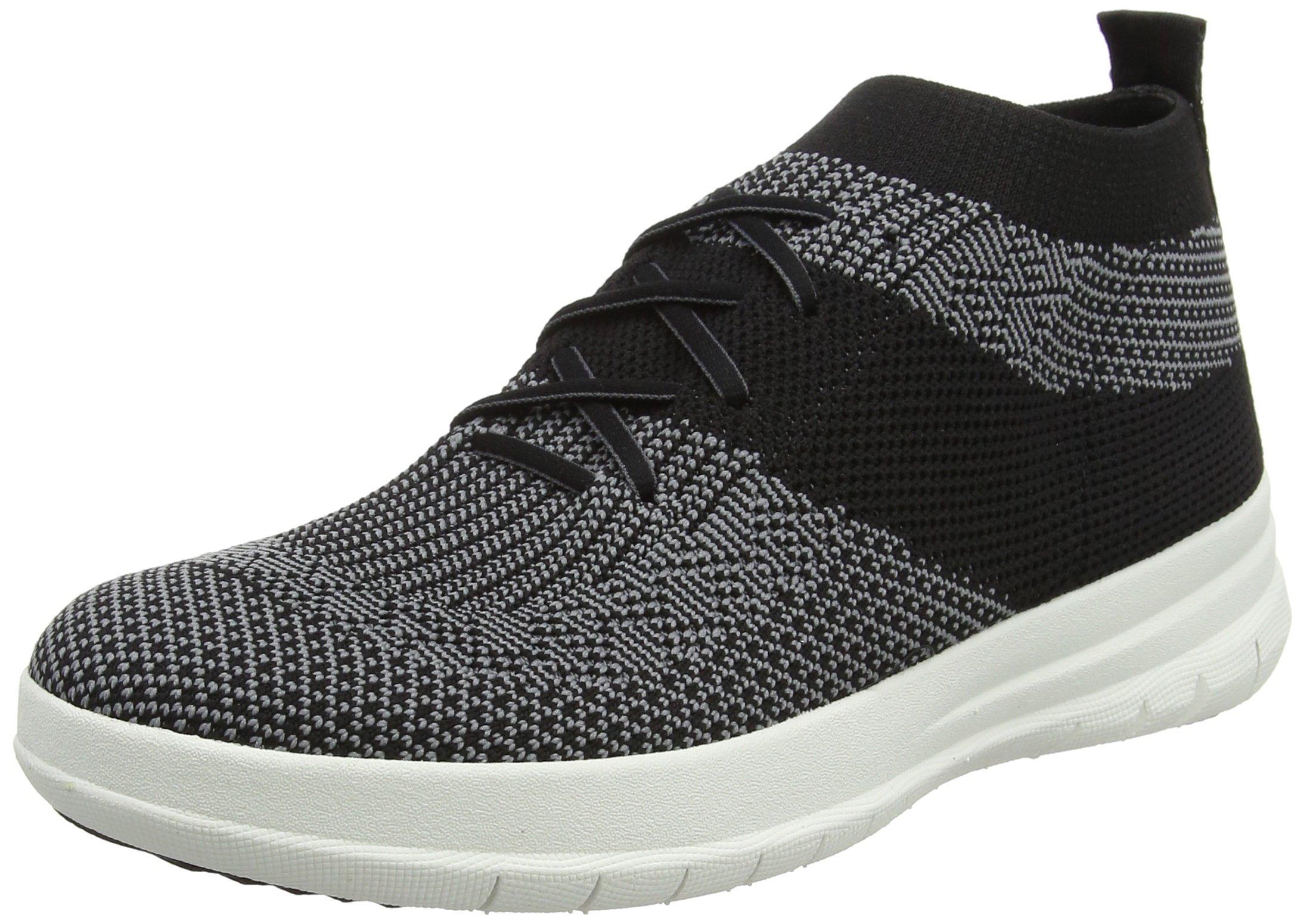 Top 1 Fitflop 3 Eu FemmeMulticolourblack Uberknit Slip charcoal37 on High SneakerBaskets OXZwlkPiuT