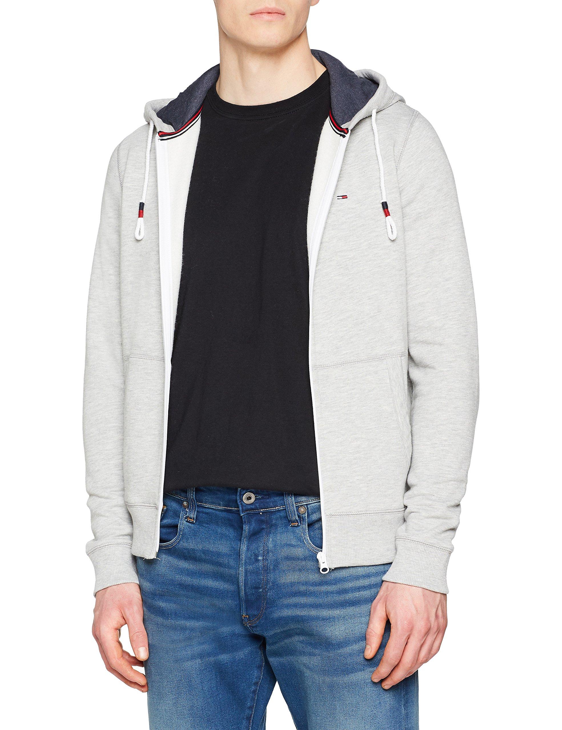 Zip Htr Homme Original Grey Sweat Hoodie Longues Tommy Grislt shirt Manches 038X Jeans small 8kN0PZnXOw