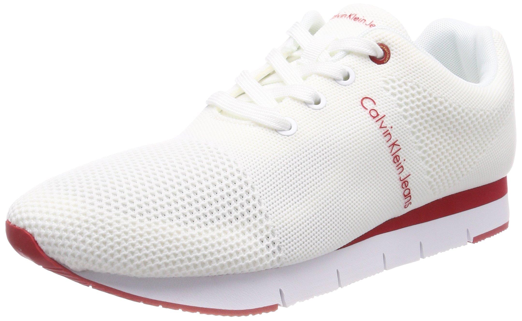MeshSneakers Calvin Jeans Eu HommeBlancwht Jado Basses Klein 00045 MpSzqVUG