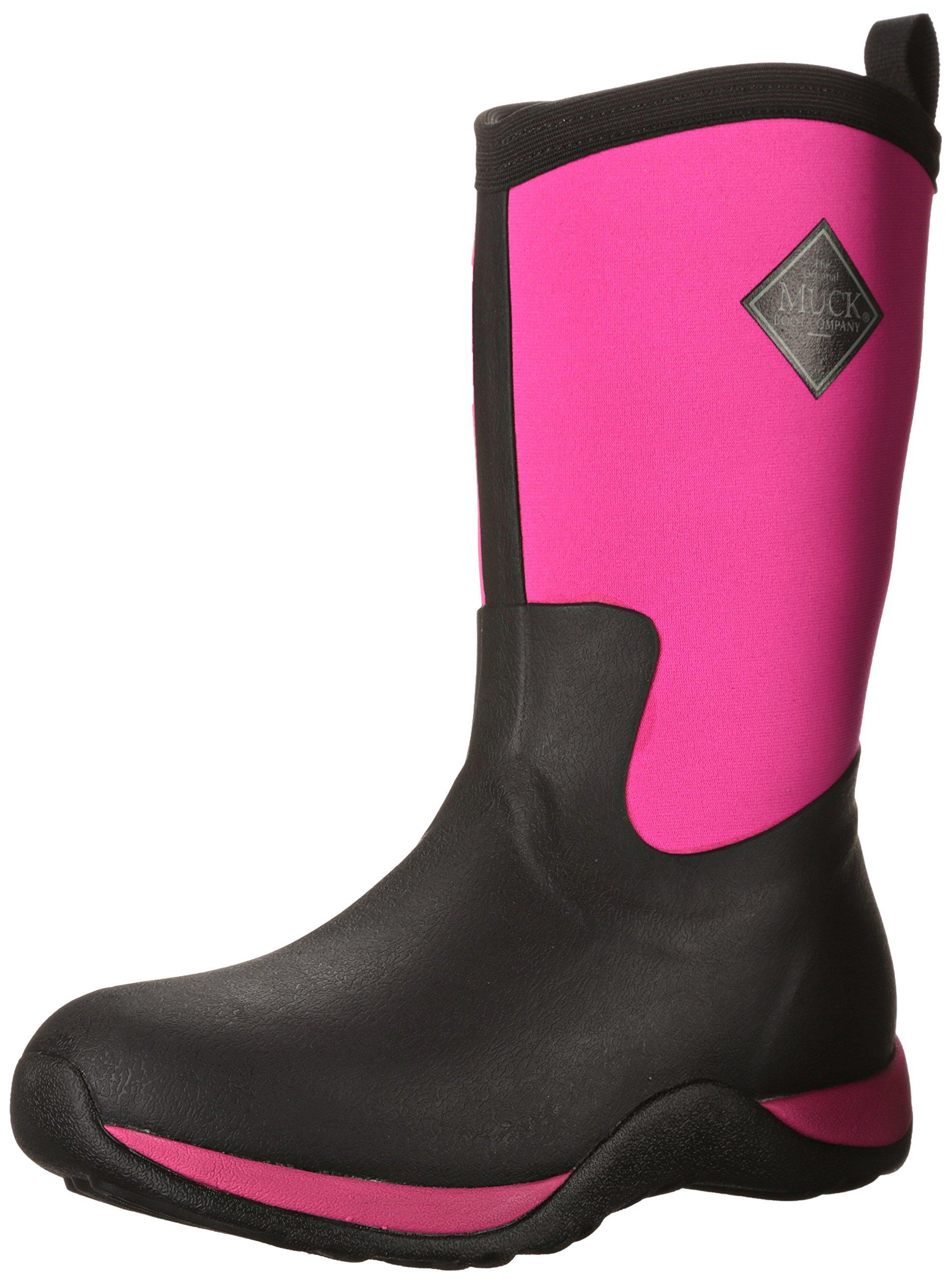 Eu Bottines FemmeNoirblack Muck Boots De hot Pink37 Women's Arctic WeekendBottesamp; Pluie ZiwXOPkuT
