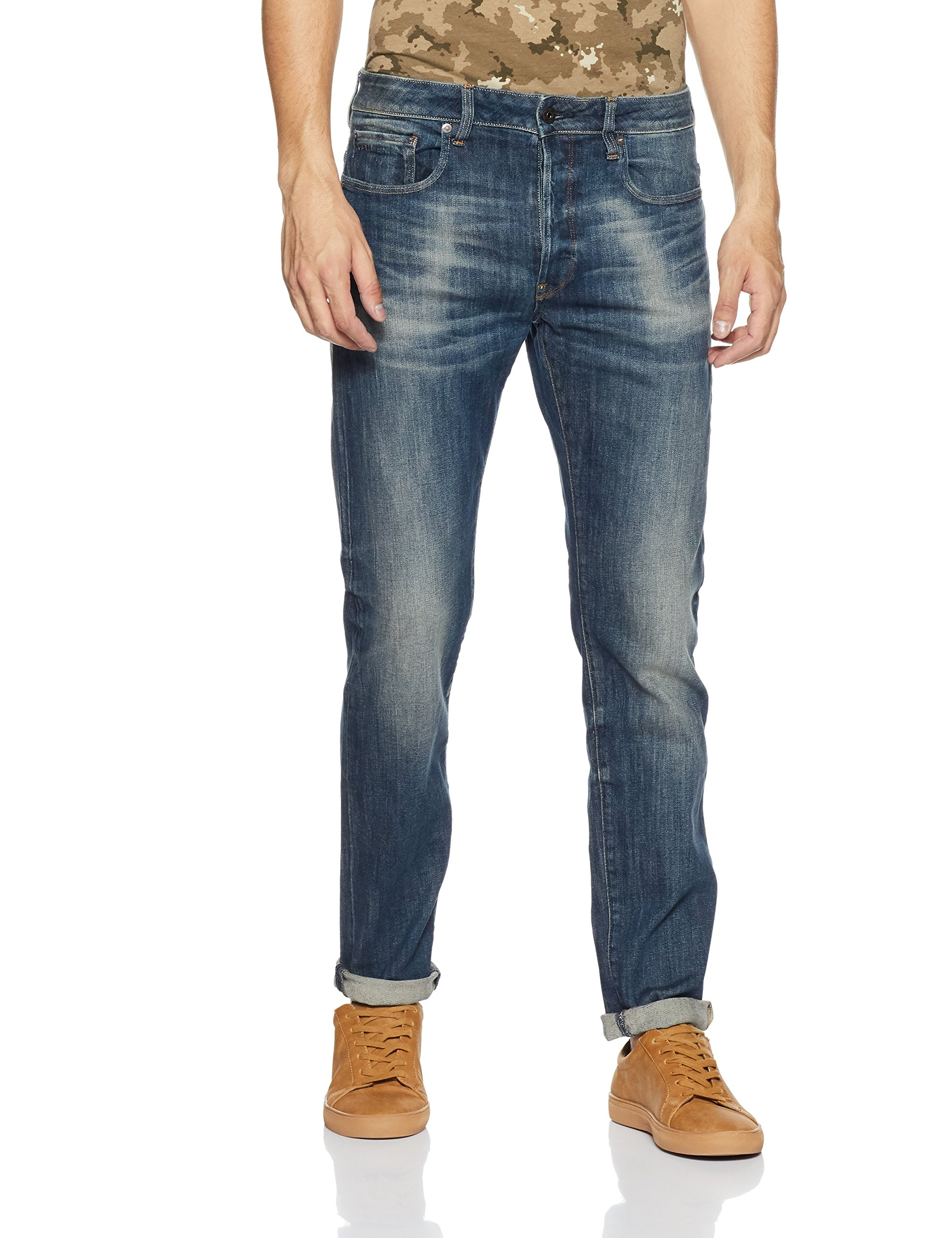 5543W32 3301Jeans Antic star Homme G l36 6566 Raw Slim l36taille Bleudk Aged FabricantW32 rdCxBhQtso