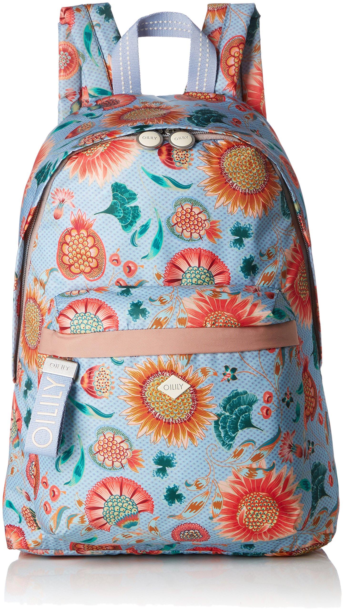 Oilily Sunflower FemmeBleulight Portés T Groovy H Cmb X Backpack LvzSacs Blue15x40x28 Dos rCBoQdeExW