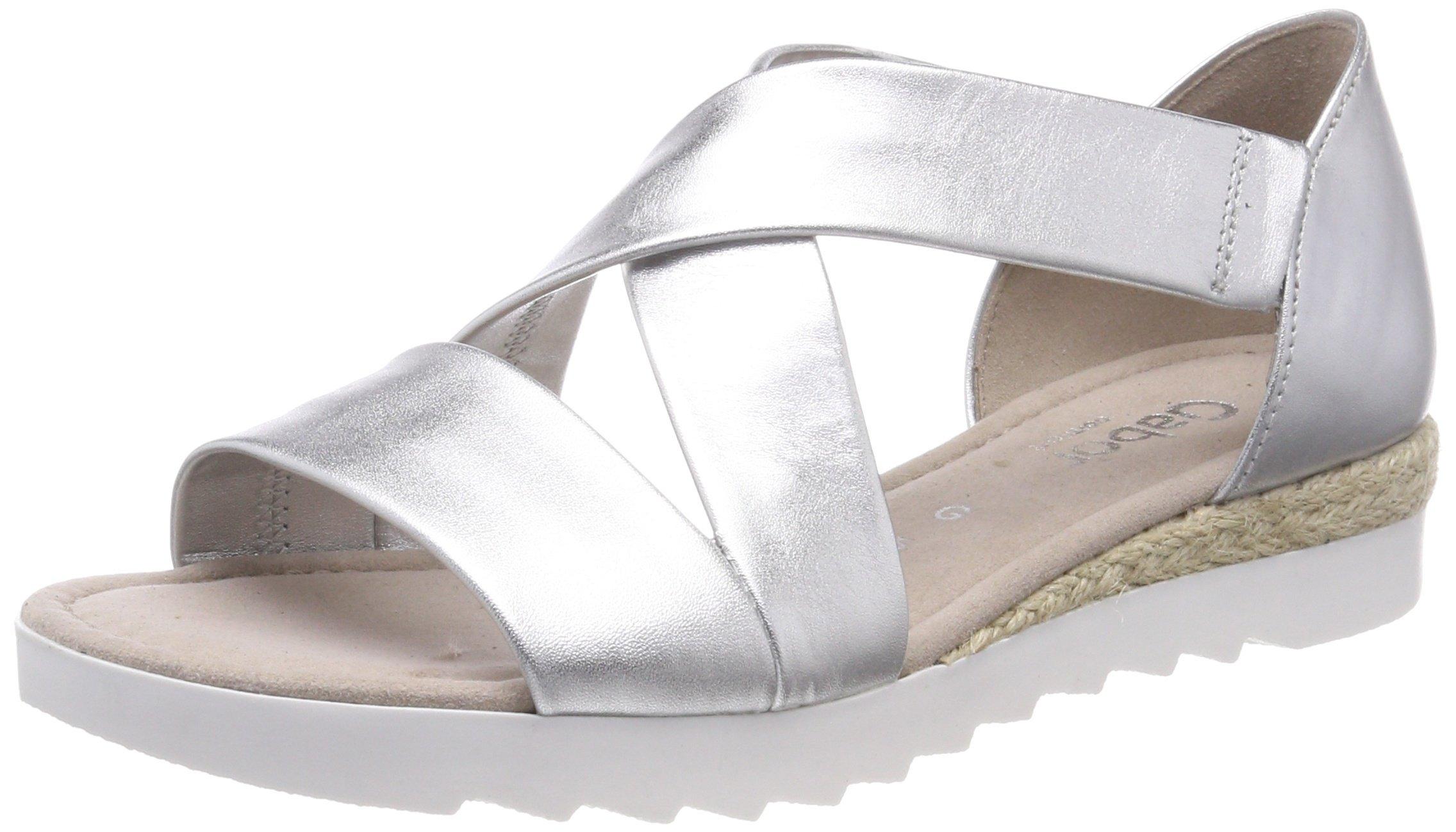 Gabor Jute42 FemmeMulticoloresilber 5 Shoes Comfort Cheville Eu Bride SportSandales CxeWroBd