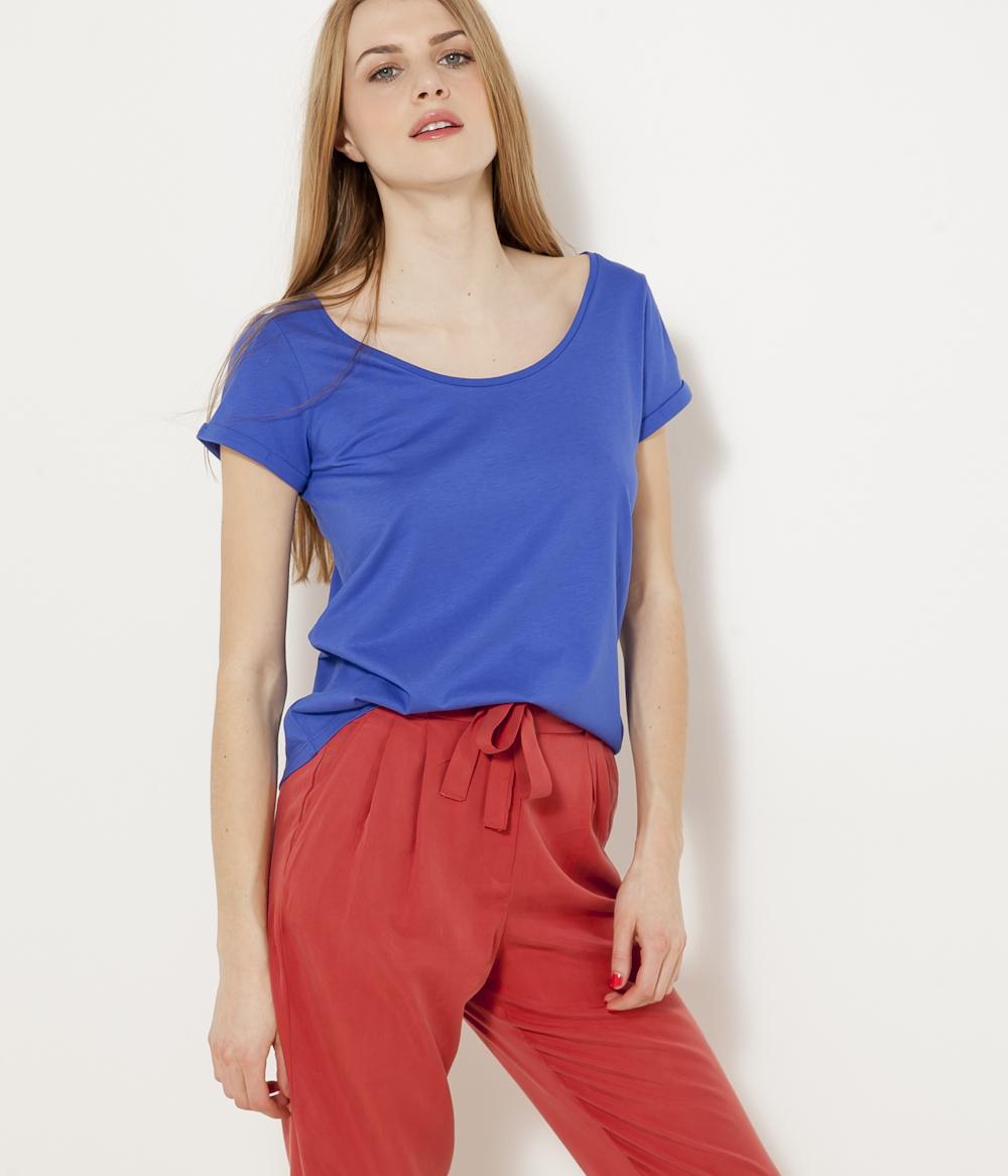 Camaïeu Femme Asymétrique Femme shirt T shirt Asymétrique Camaïeu T K35cTlFu1J