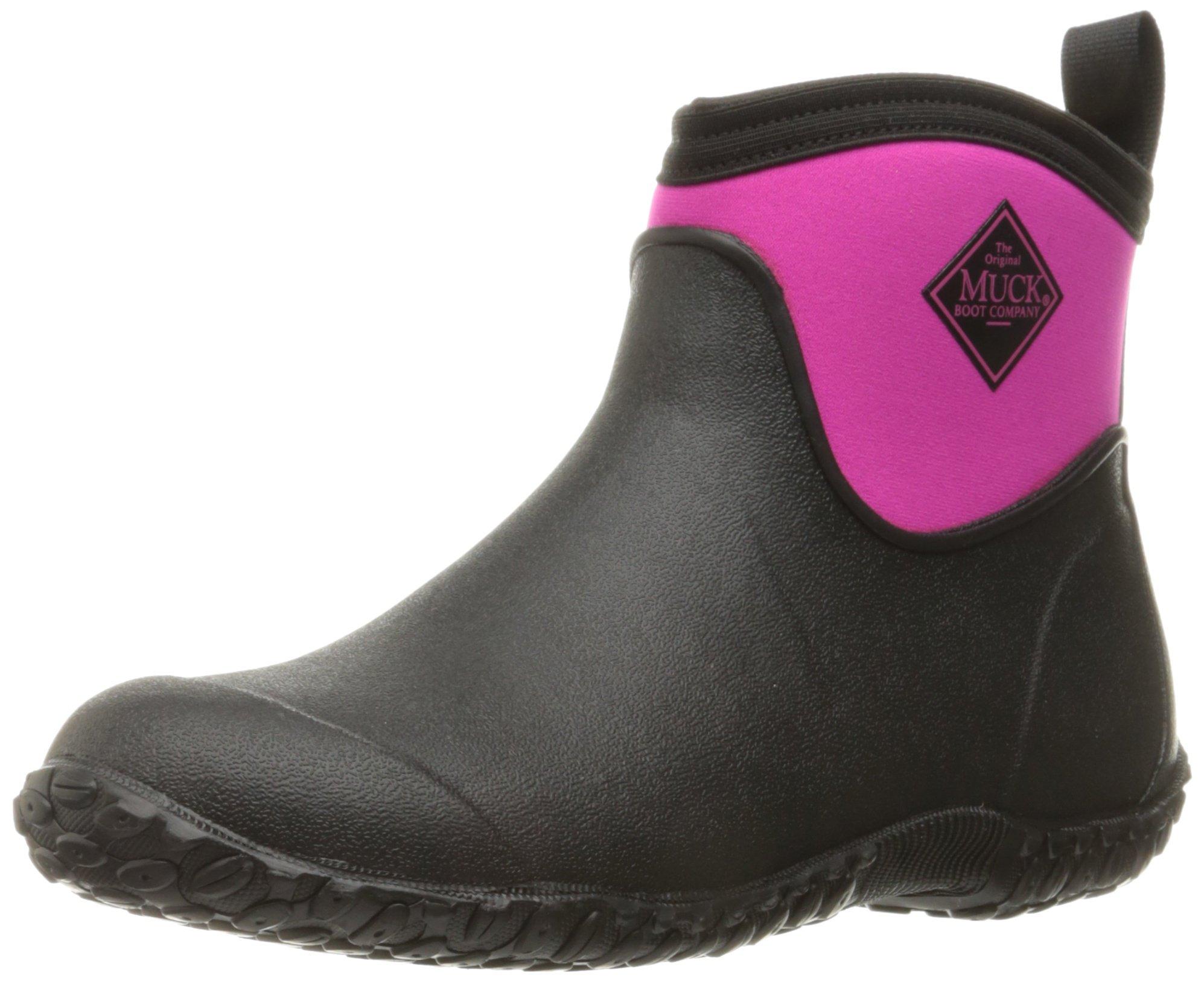 Muck Muckster Boots AnkleBottesamp; Pluie De Women's Bottines FemmeNoirblack Ii Pink36 Eu hot eD92WYbEHI