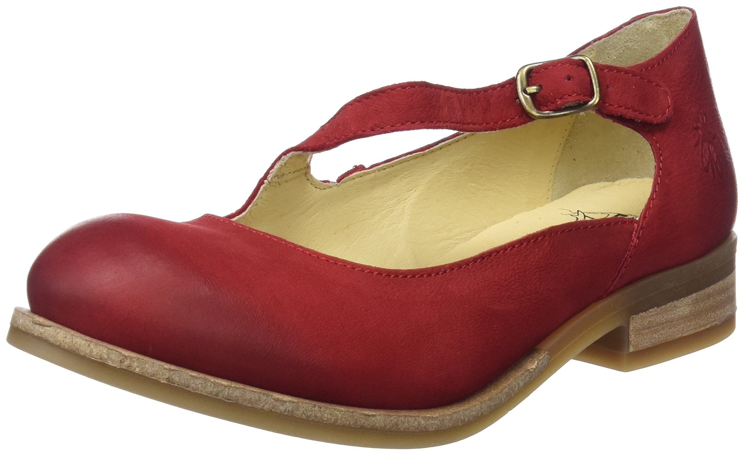 London Fermé Bout FemmeRougelipstick Red38 Alky213flyBallerines Fly Eu jL4Ac35Rq